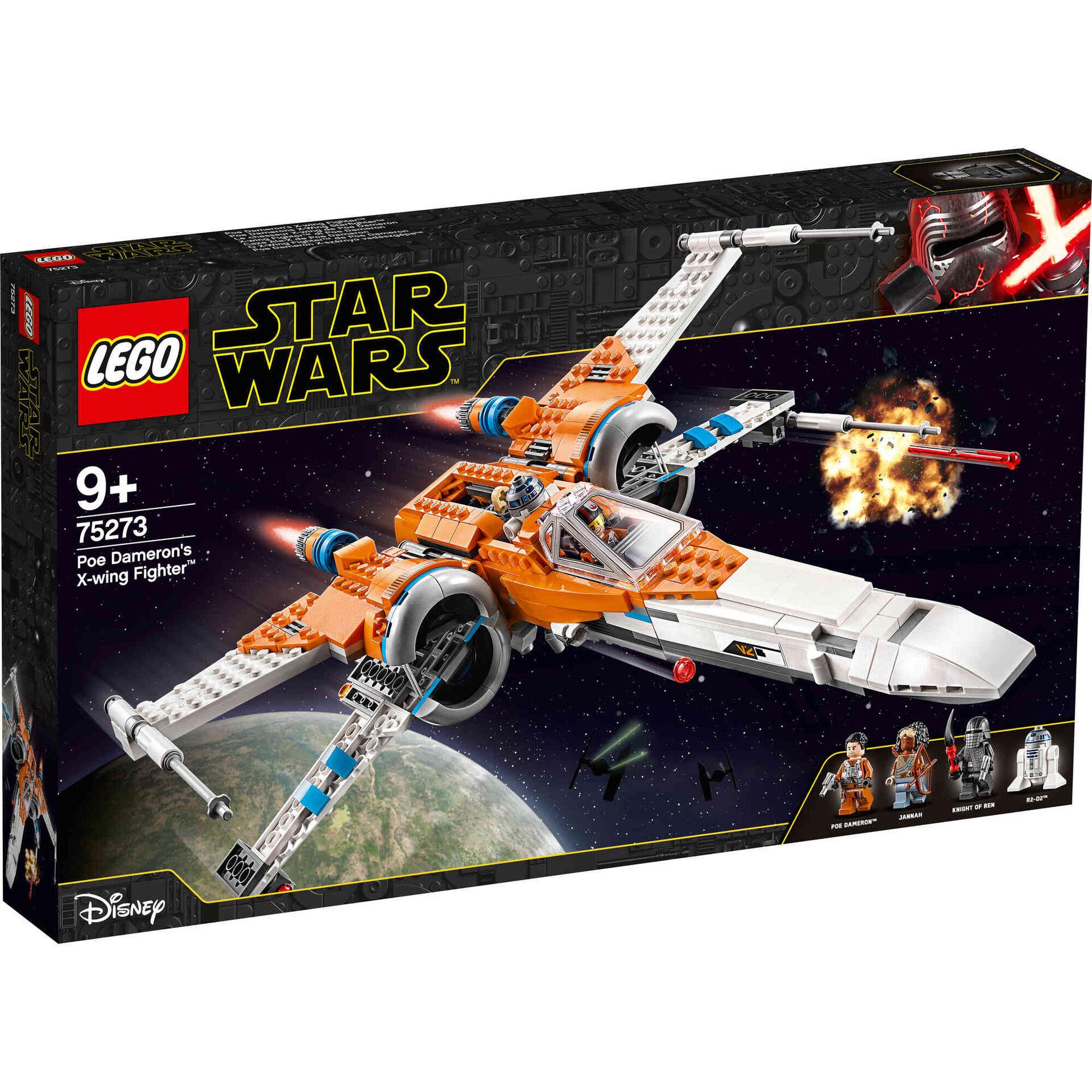 O X-Wing Fighter de Poe Dameron - 75273