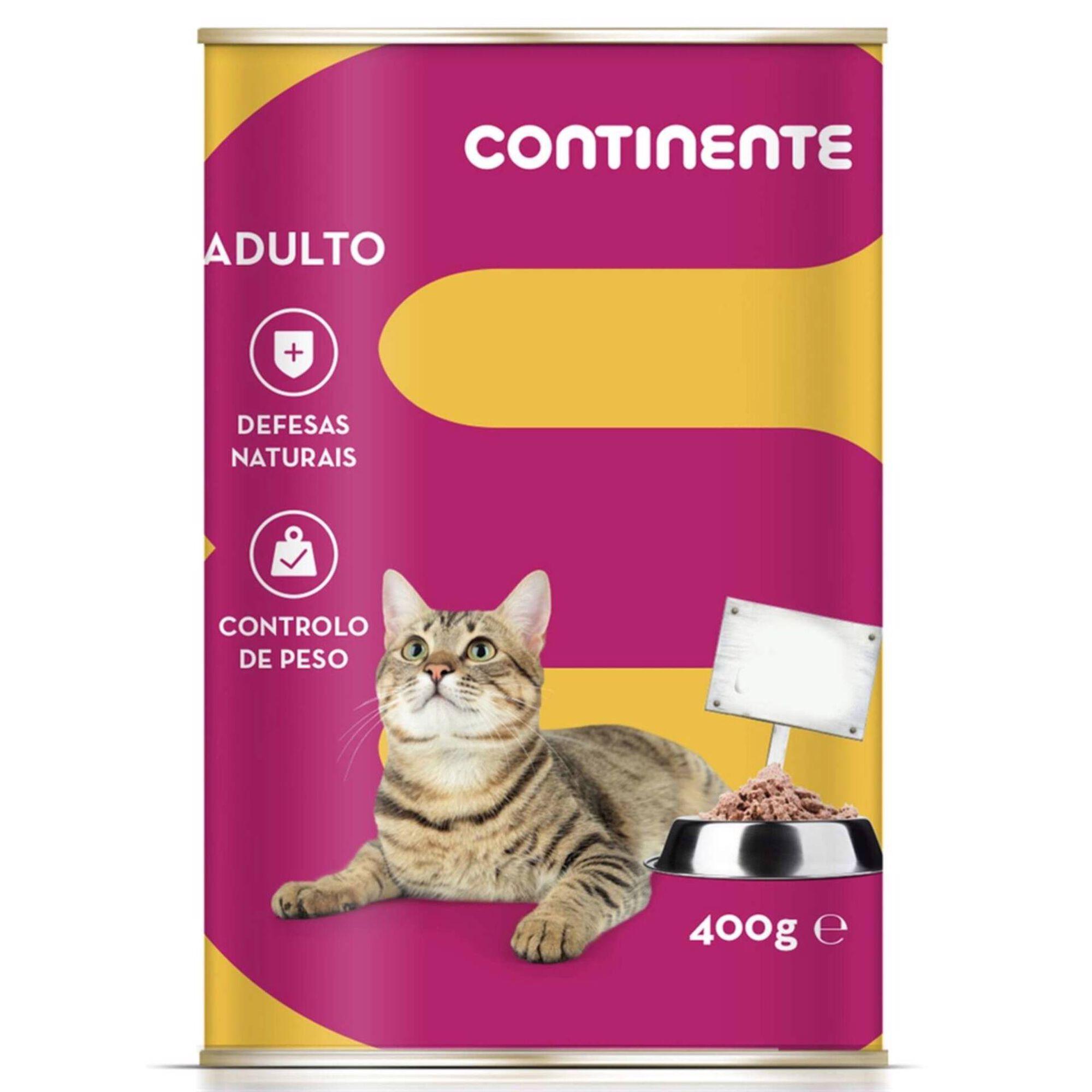 Comida Húmida para Gato Adulto Almôndegas em Molho Frango Lata