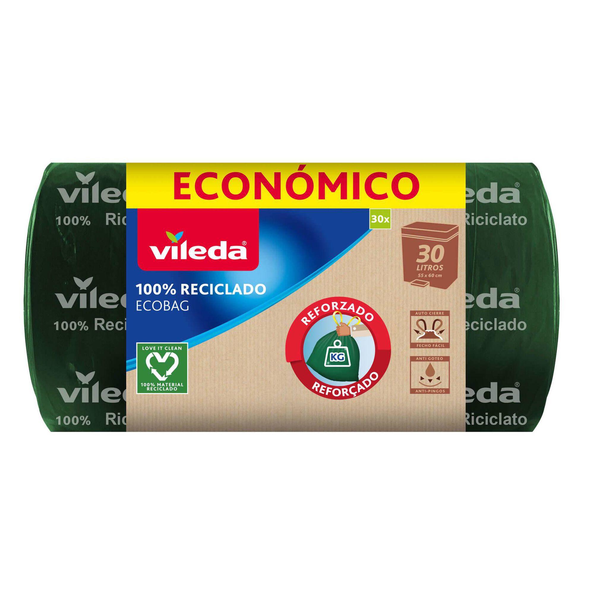 Sacos Lixo Ecobag 100% Reciclado 30 lt