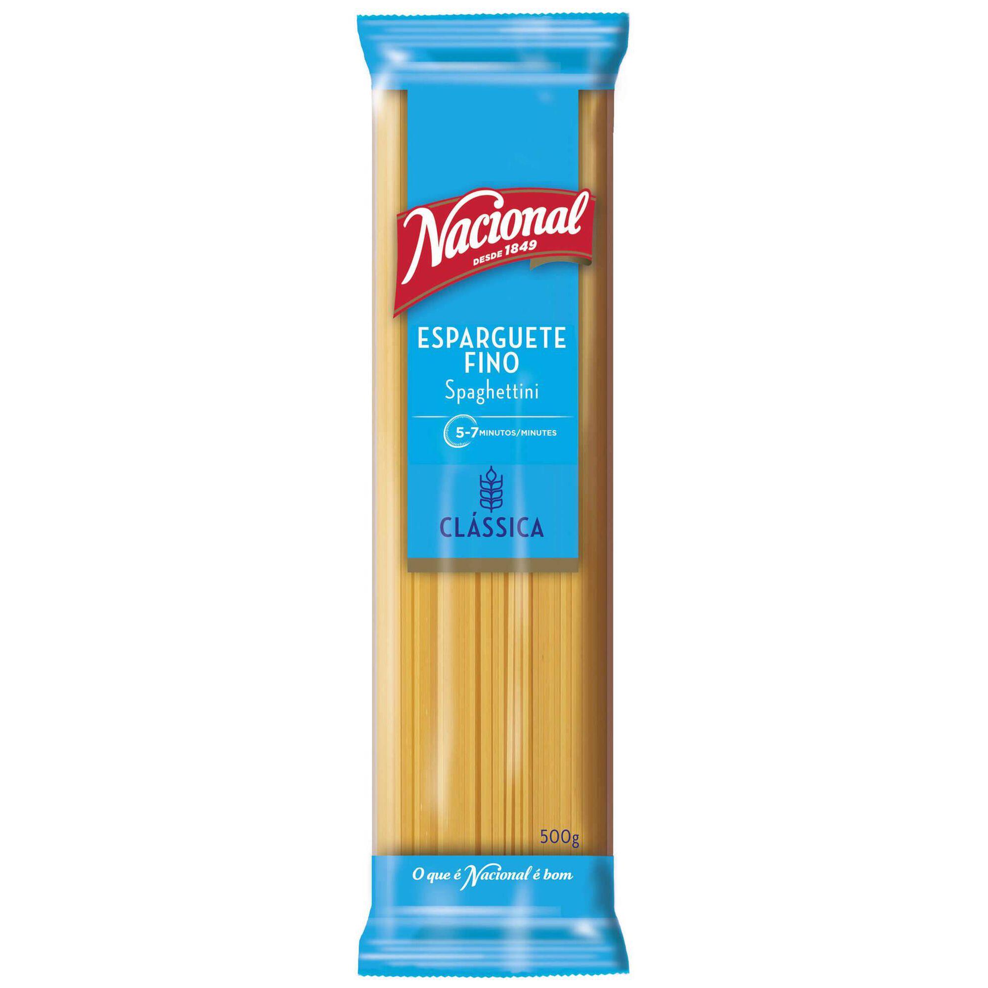 Massa Esparguete Fino
