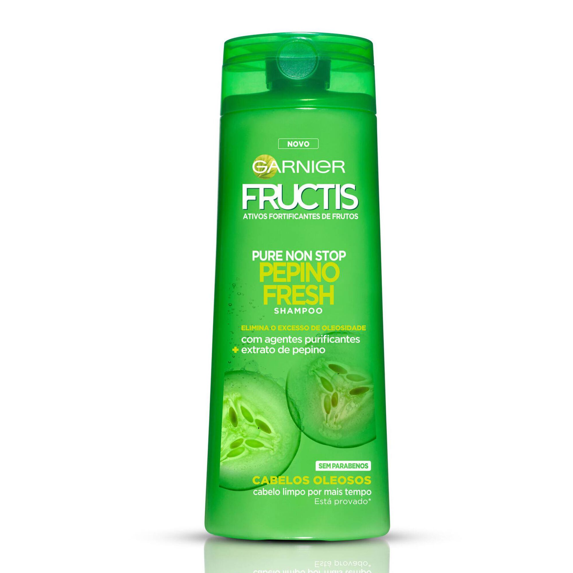 Champô Fructis Pure Non Stop Pepino Fresh