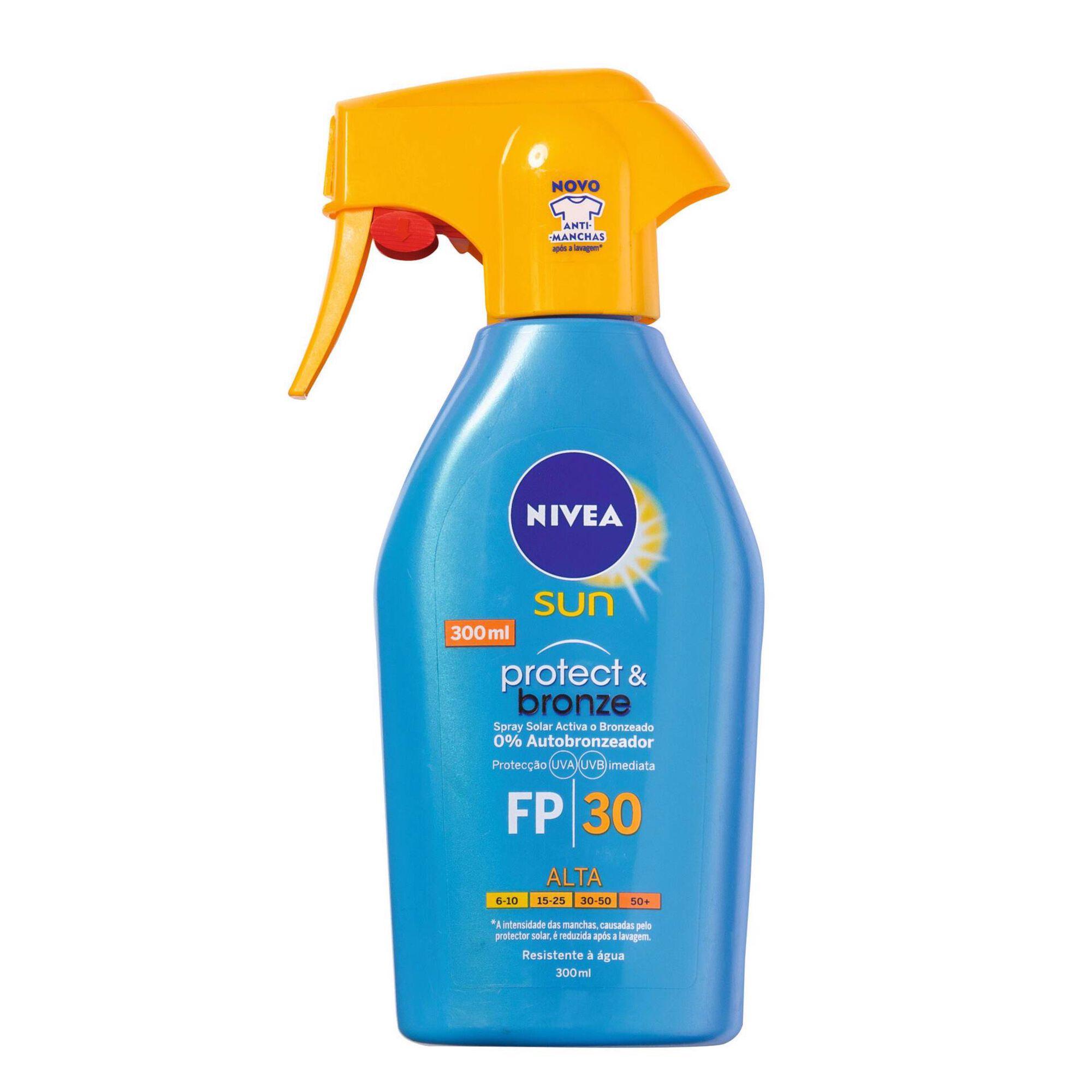 Protetor Solar Spray Protect & Bronze FPS30