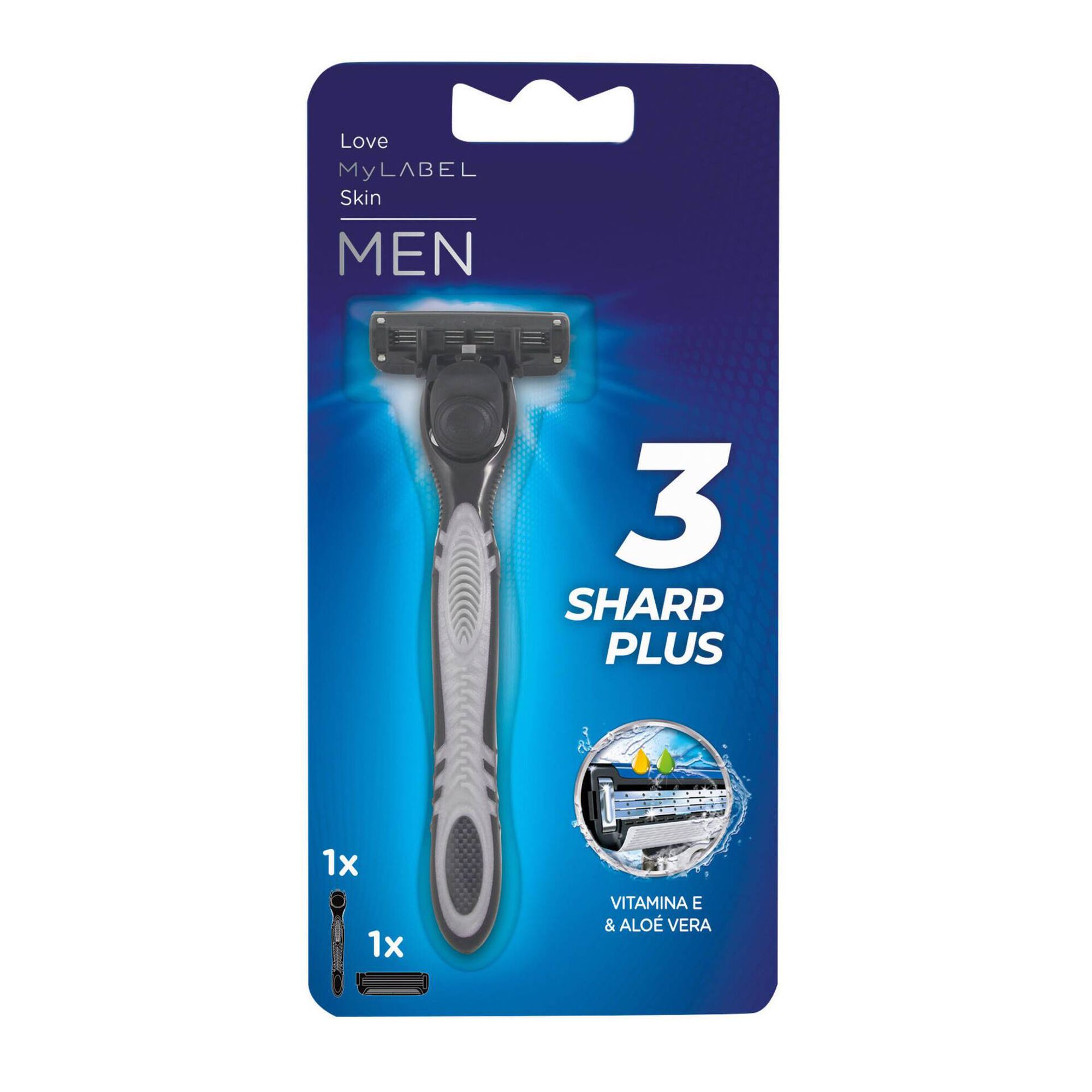 Máquina de Barbear Tri-Sharp Plus