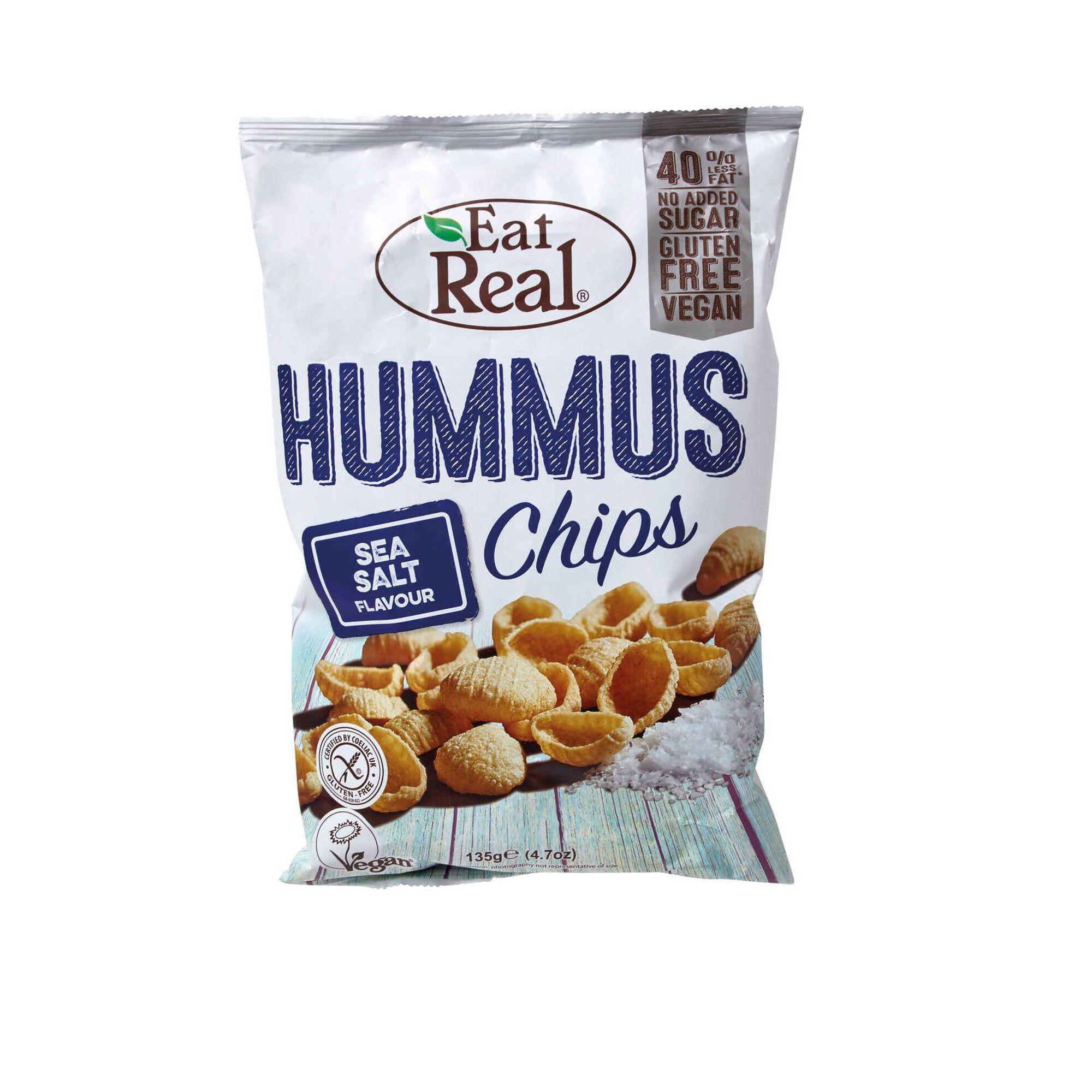 Snack Aperitivo Hummus e Sal Marinho sem Glúten