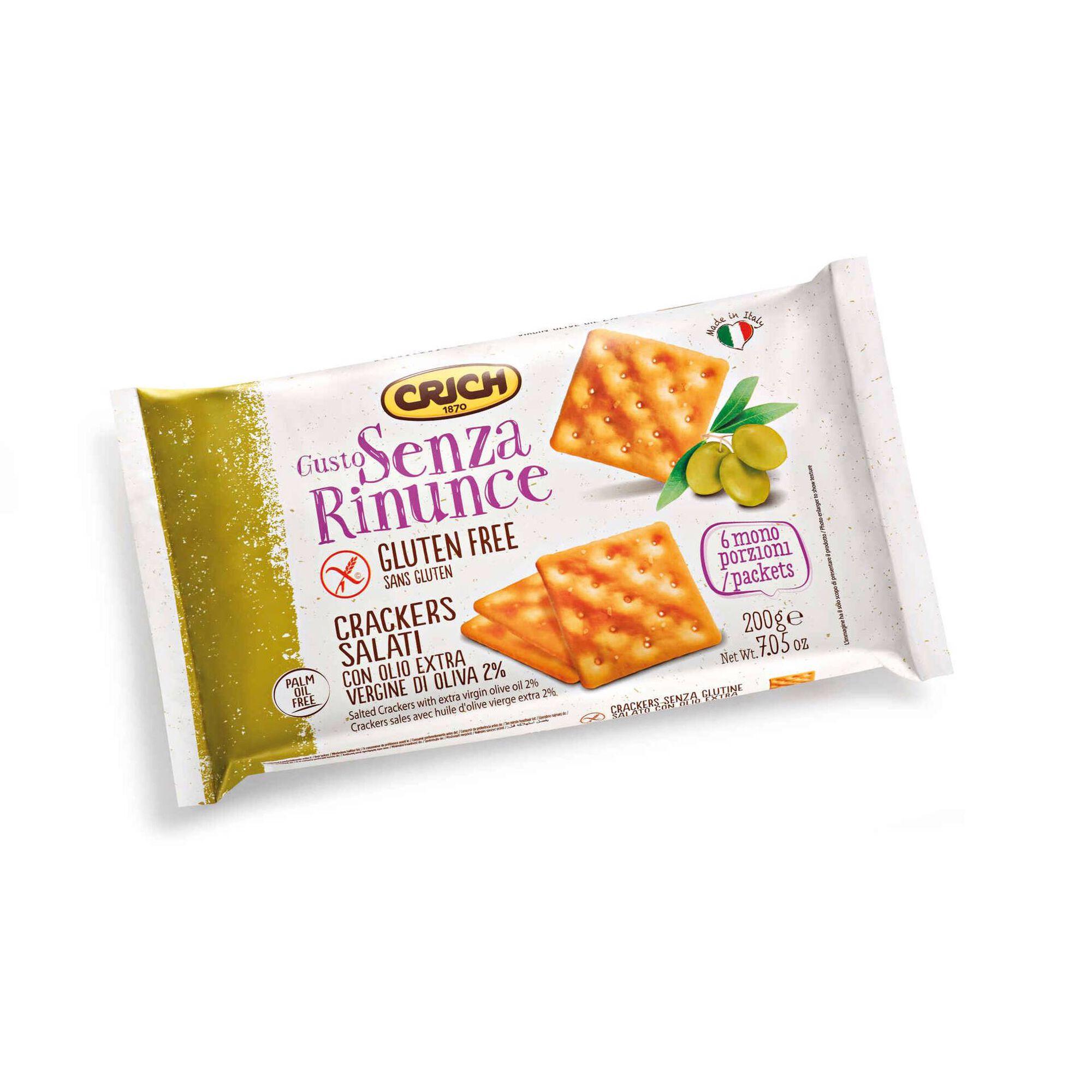Bolachas Crackers sem Glúten