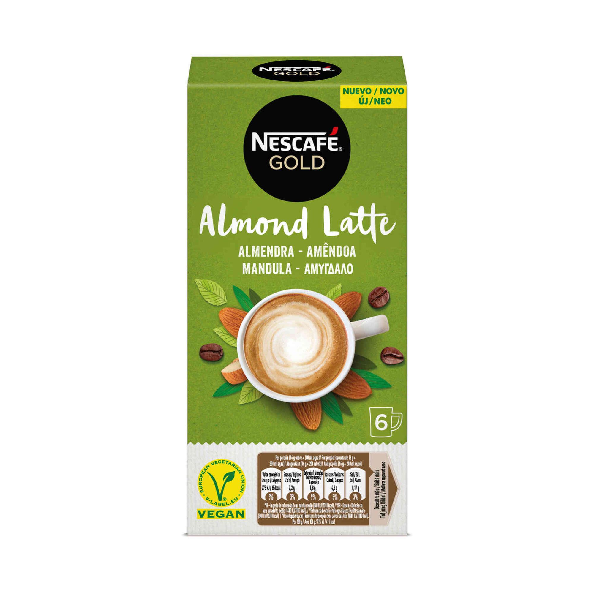 Café Solúvel Gold Almond Latte