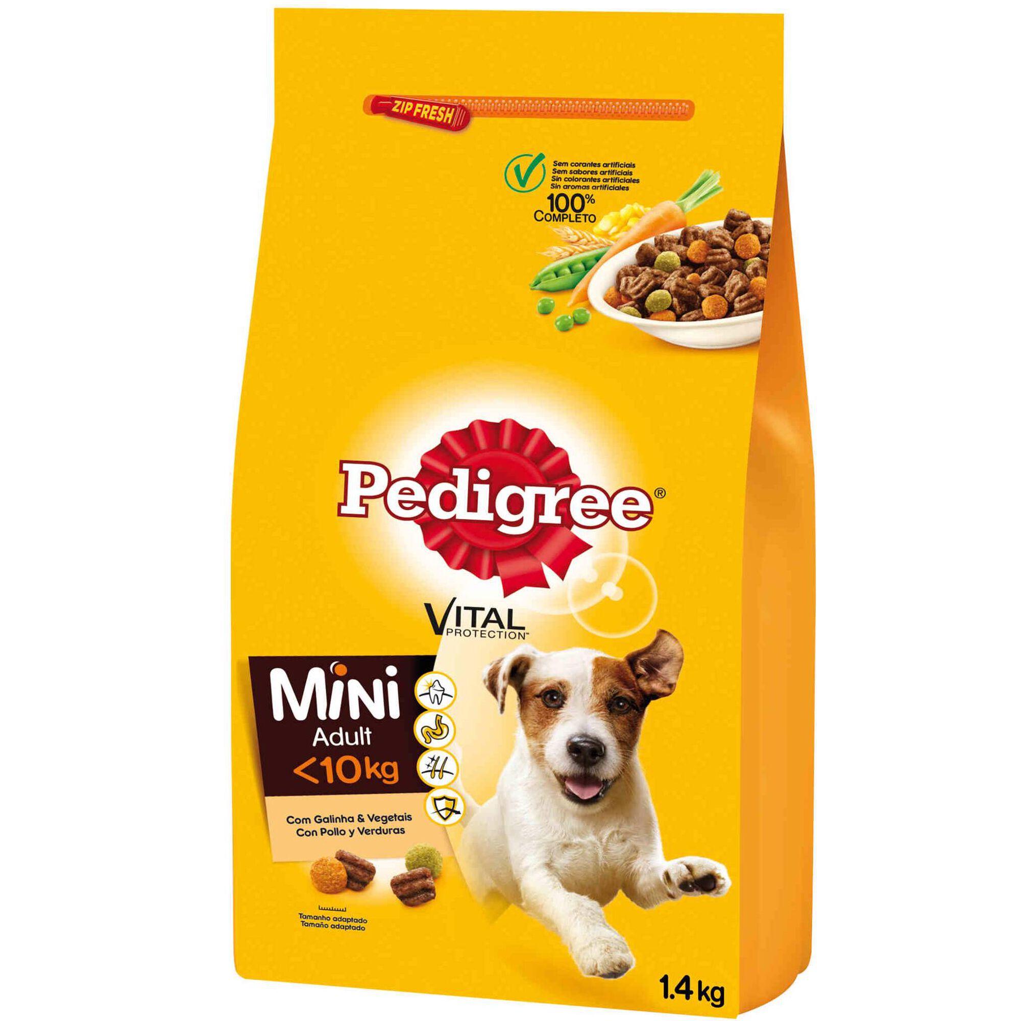 Ração para Cão Adulto Mini Galinha e Legumes