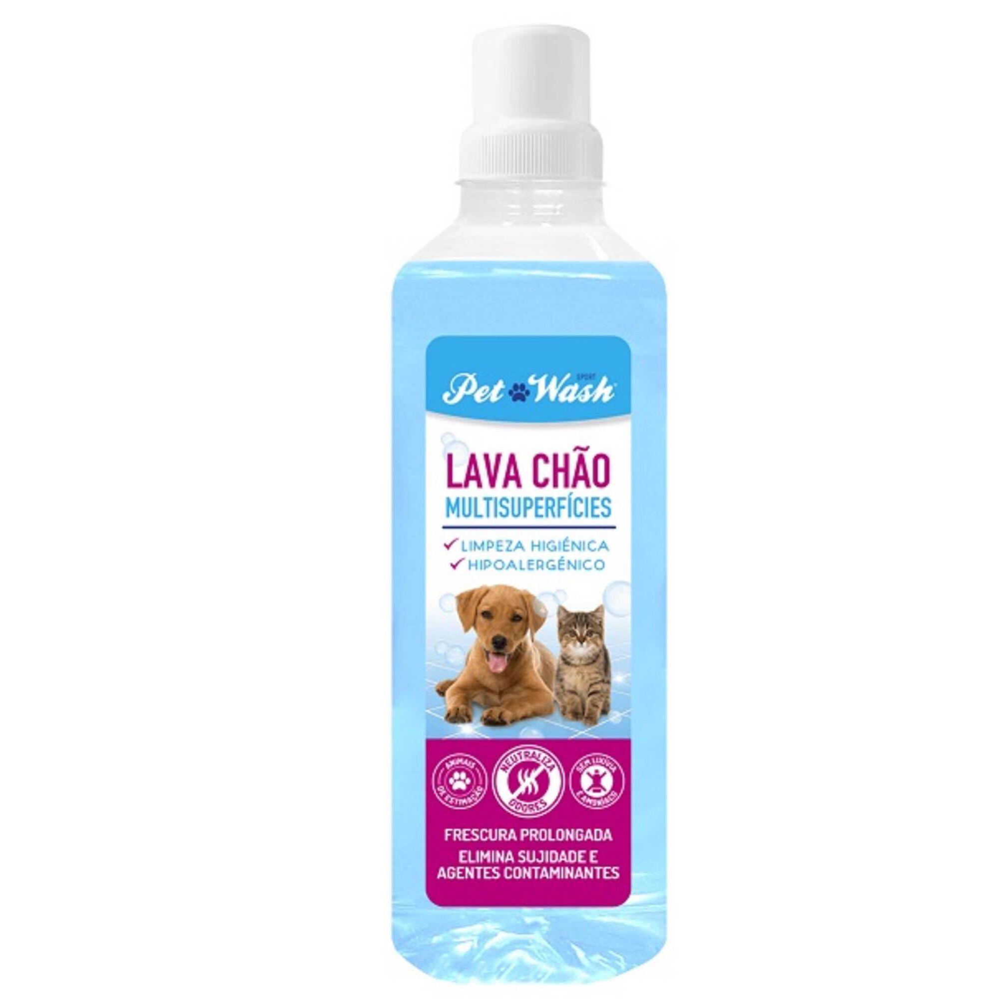 Lava Chão Cão/Gato Pet Wash Multisuperficies