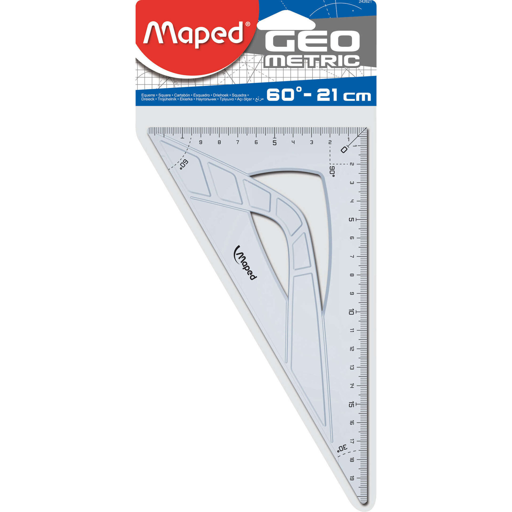 Esquadro 60º 21cm