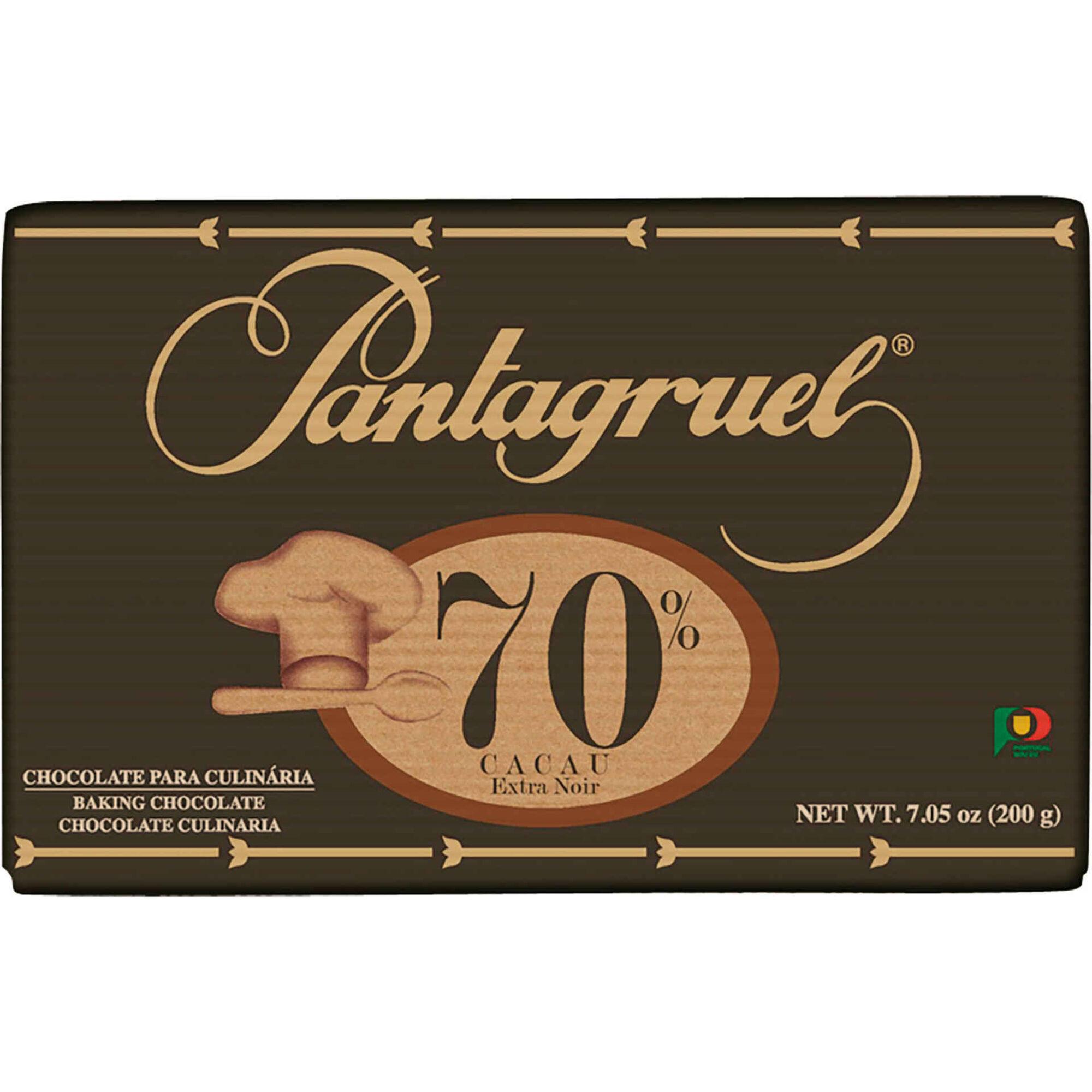 Tablete de Chocolate Culinária 70% Cacau