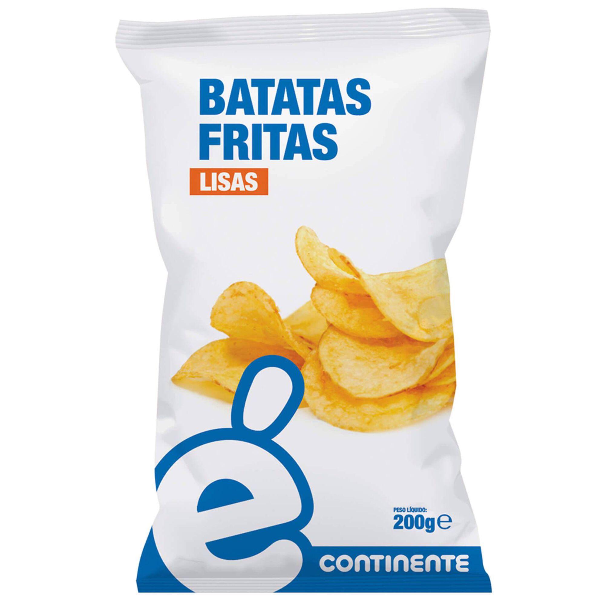 Batata Frita Lisa