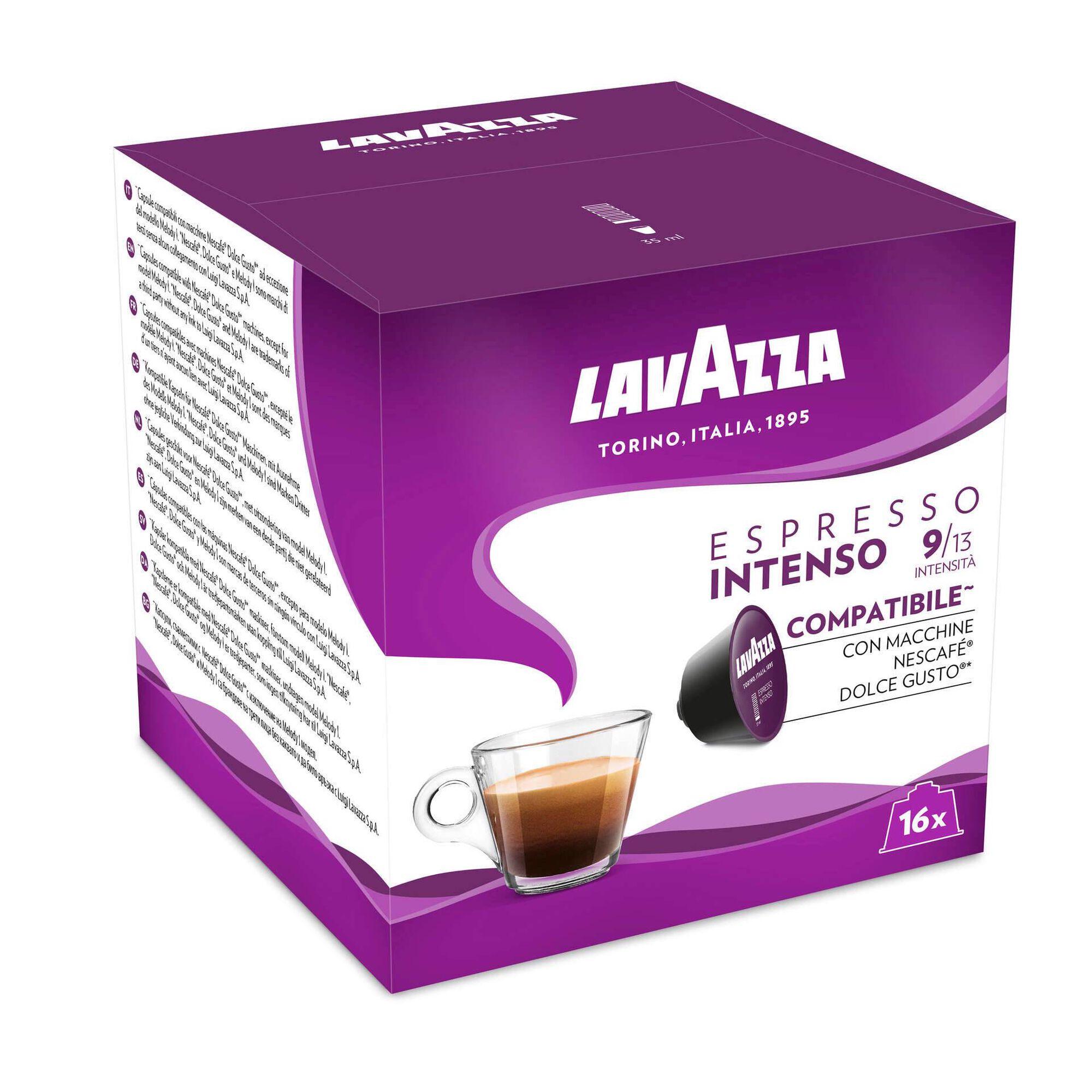 Cápsulas de Café Intenso Compatível com Dolce Gusto Int 9