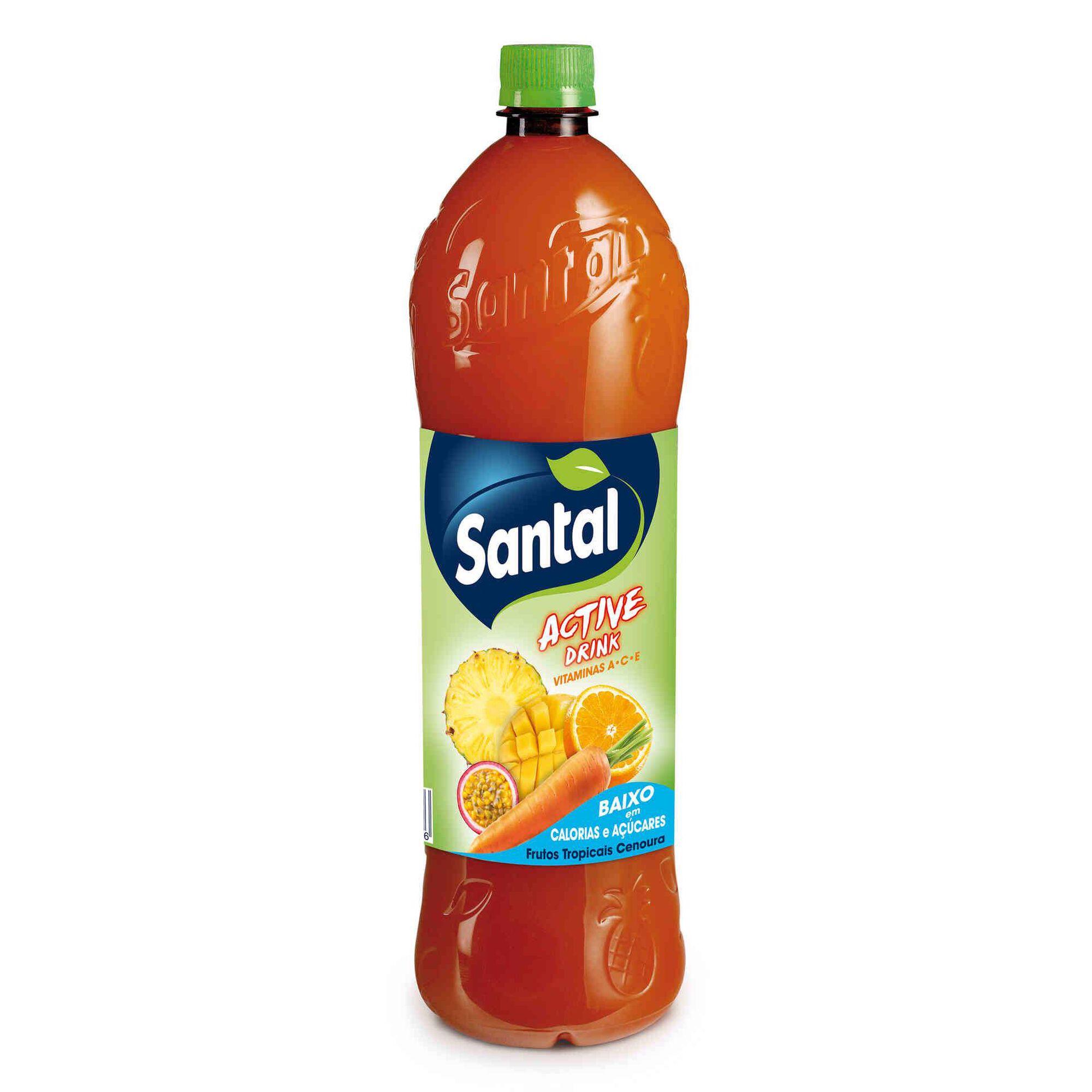 Refrigerante sem Gás Tropical e Cenoura -30% Açúcar