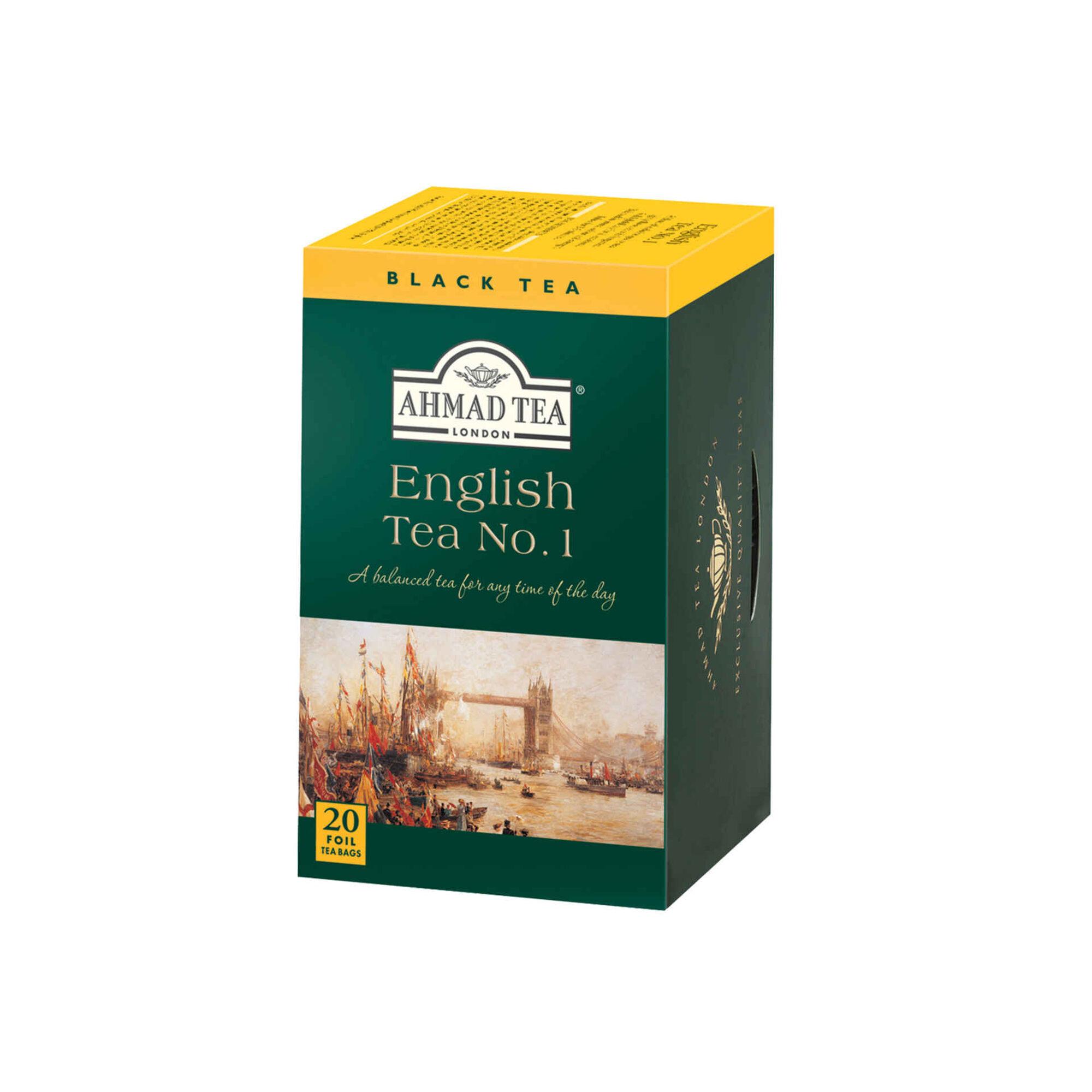 Chá Preto English Nº1 Saquetas