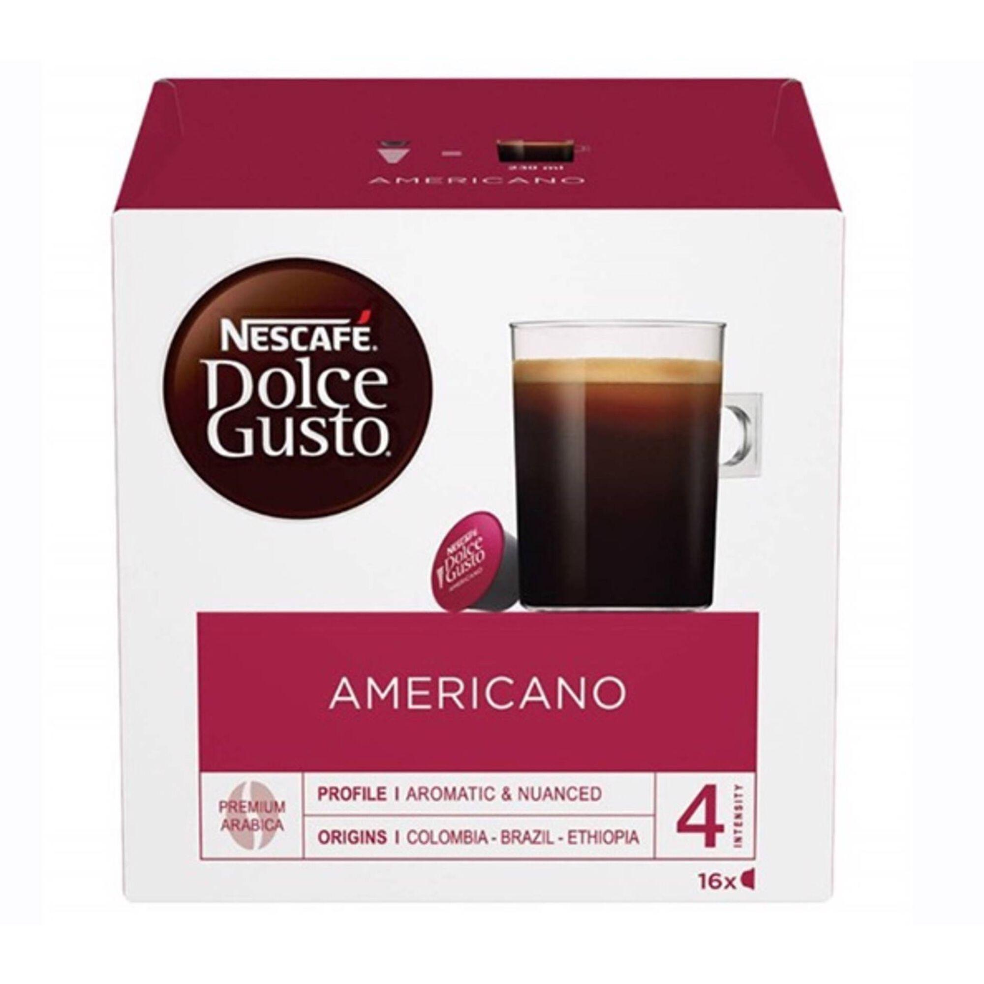 Cápsulas de Café Americano Int 5