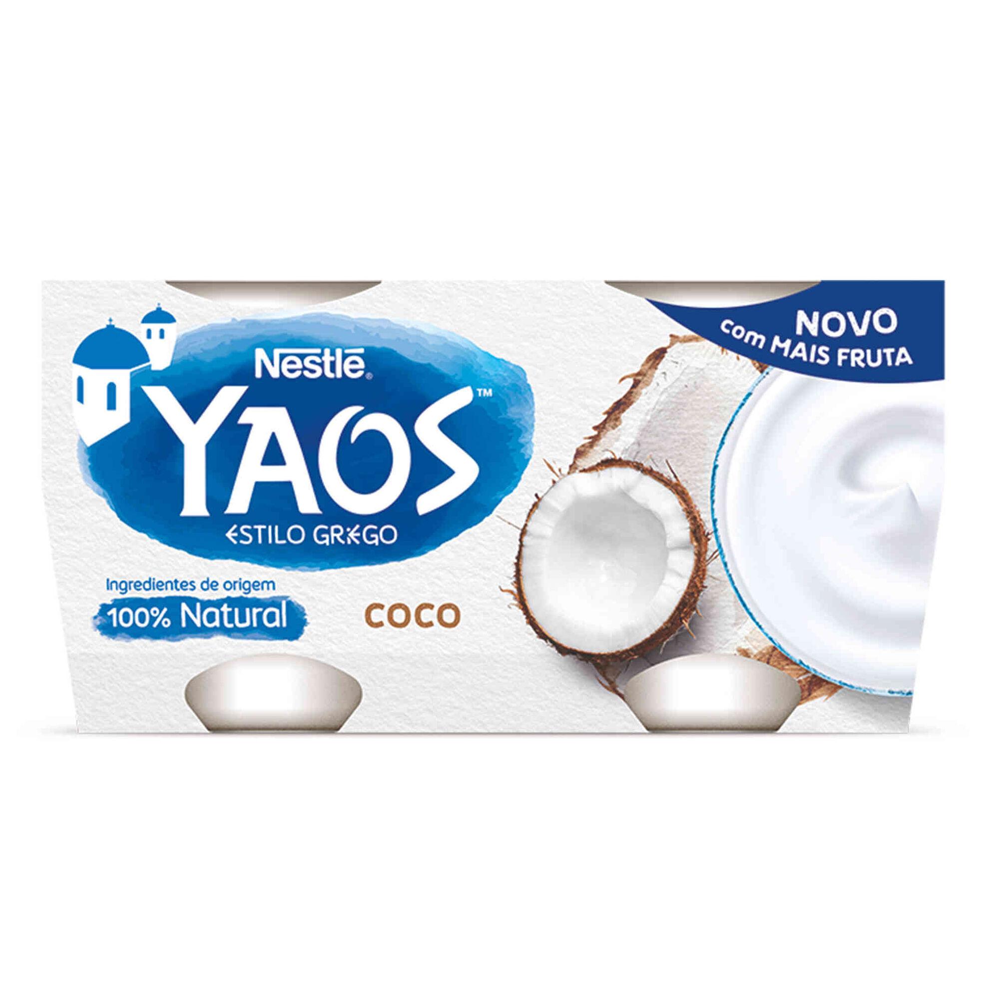 Iogurte Grego Yaos Coco