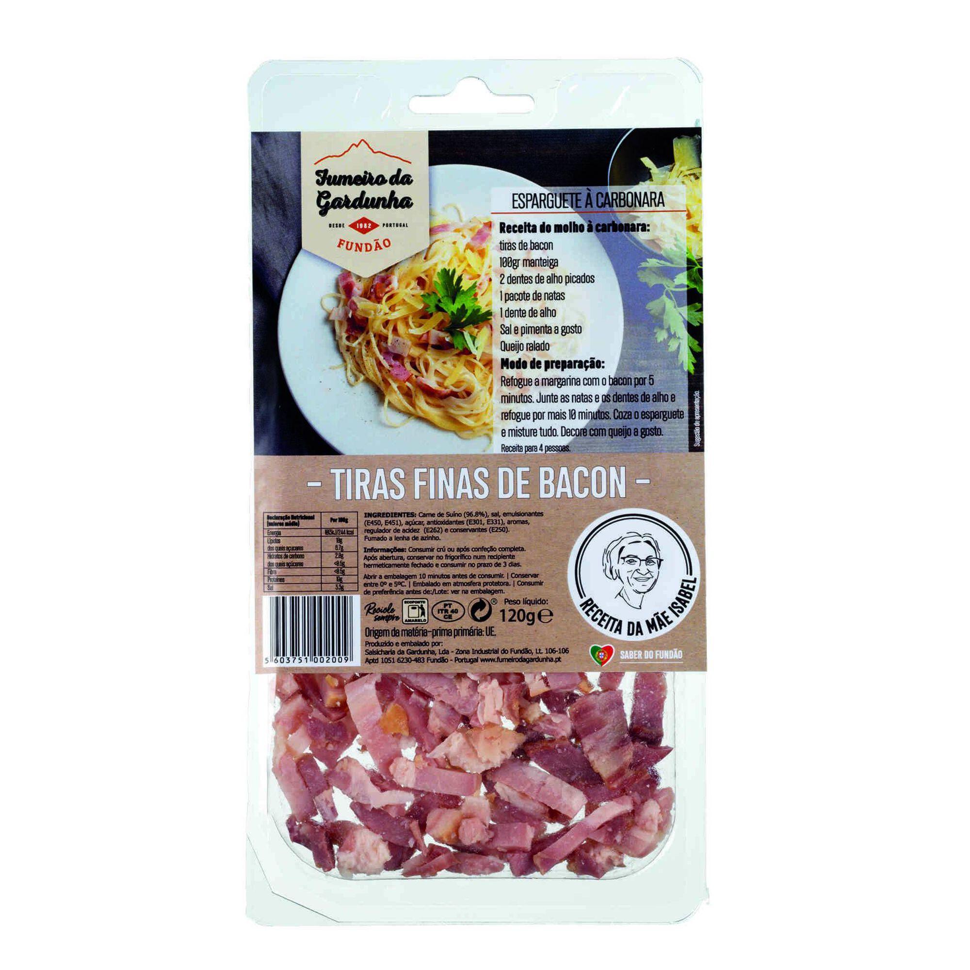 Bacon do Fundão Tiras Finas