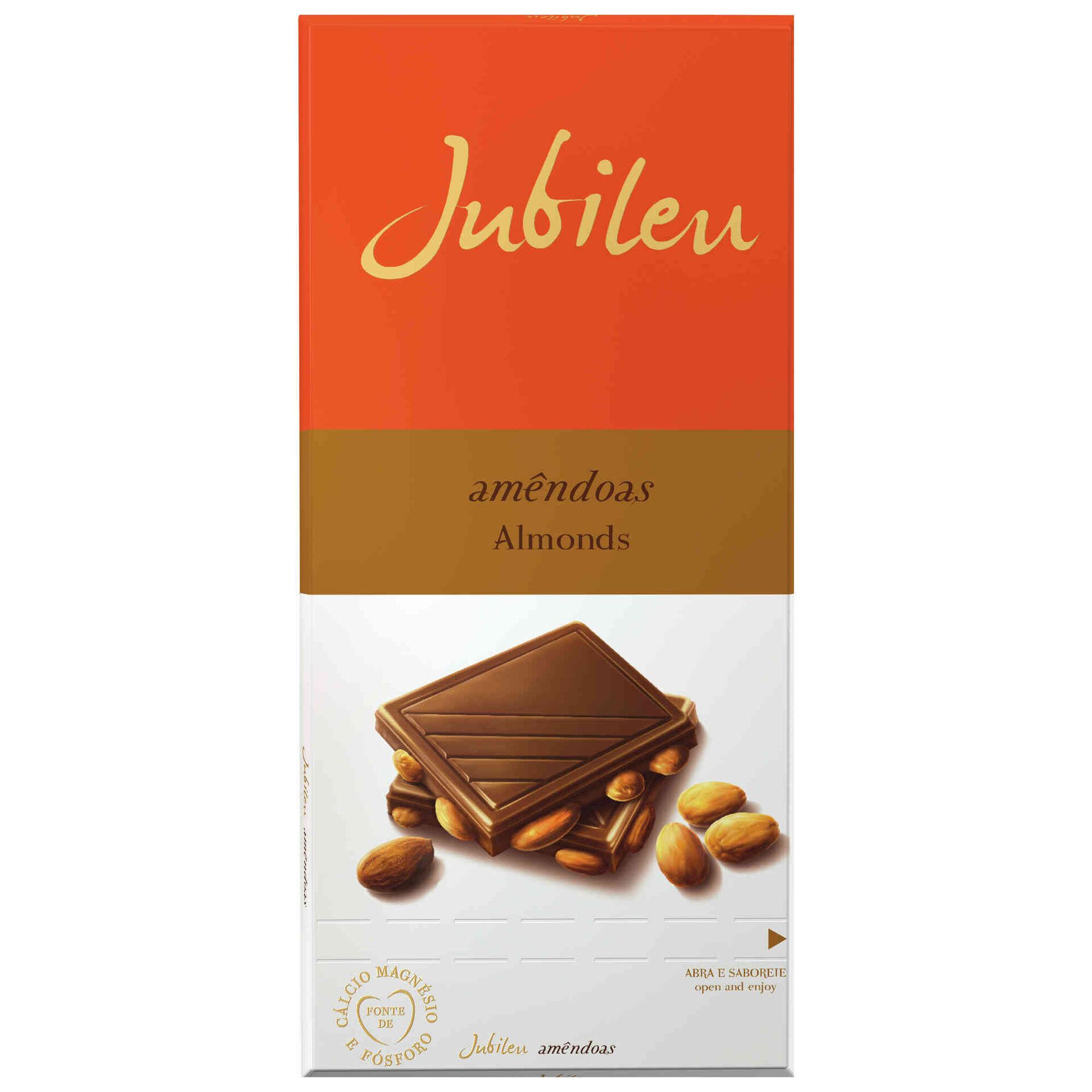 Tablete de Chocolate com Amêndoa