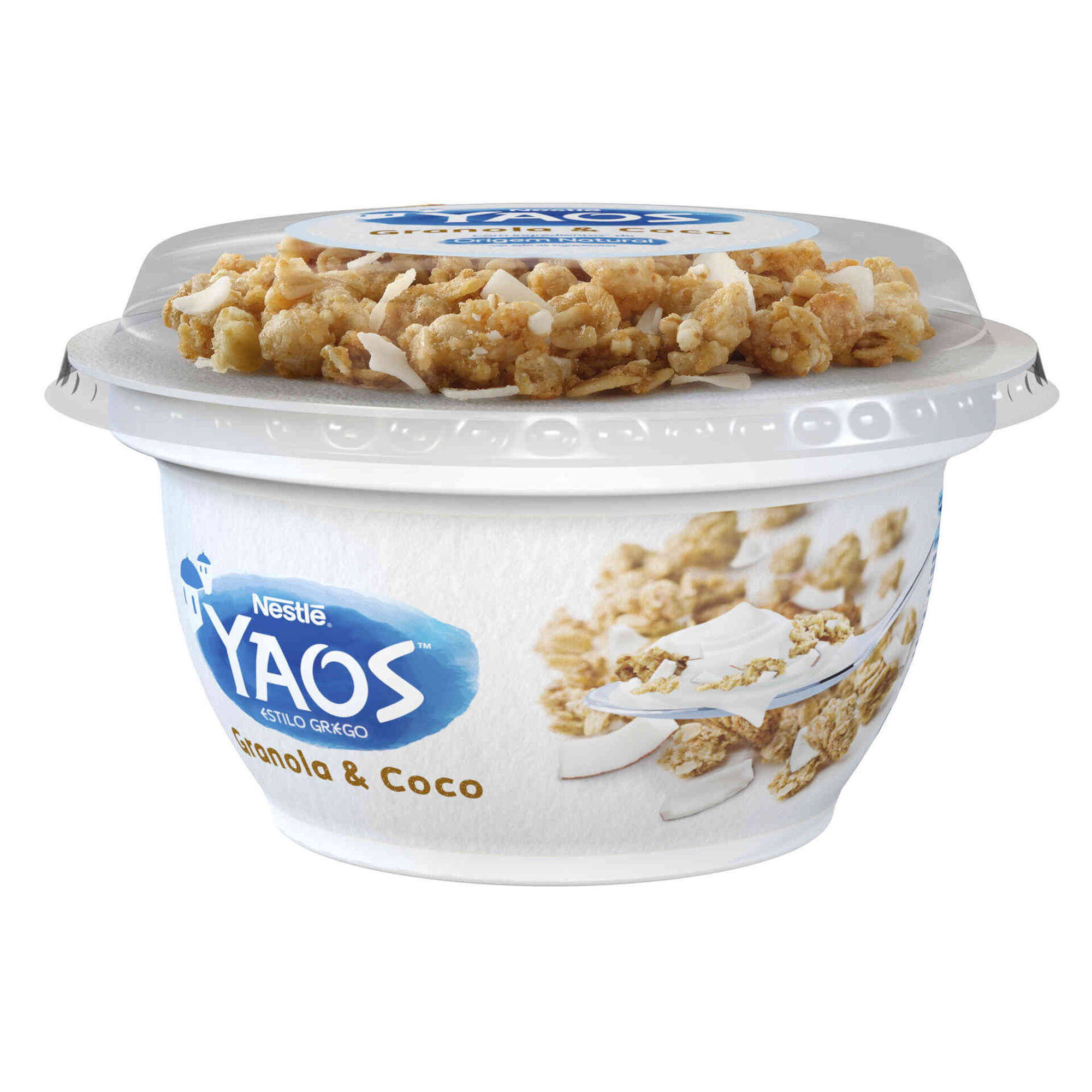 Iogurte Grego Yaos Granola e Coco