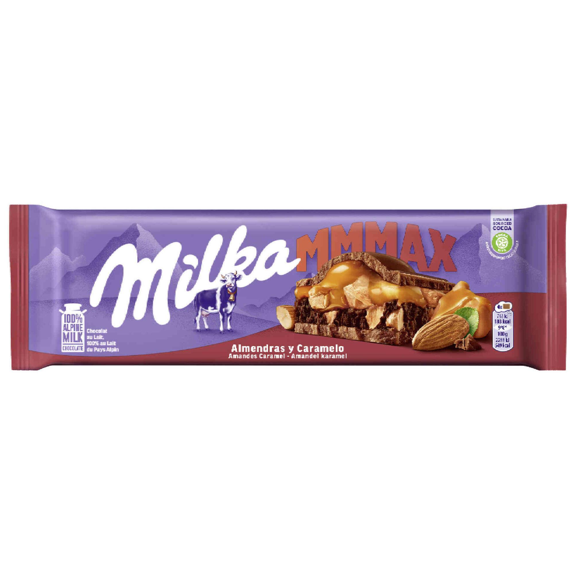 Tablete de Chocolate com Amêndoa e Caramelo