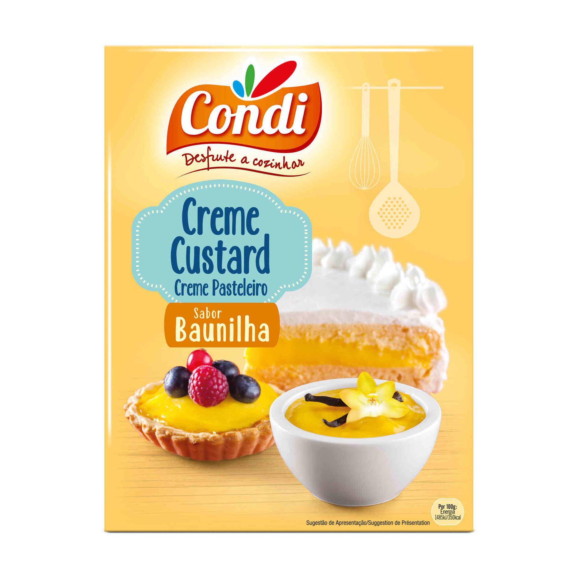 Farinha para Creme Custard Baunilha