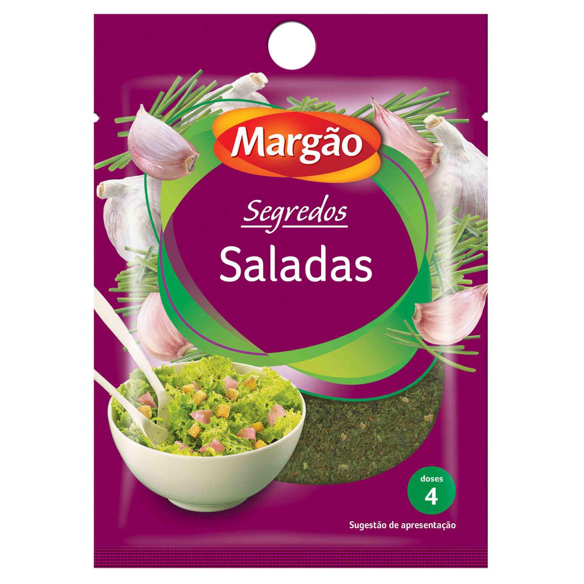 Especiarias para Saladas em Saqueta