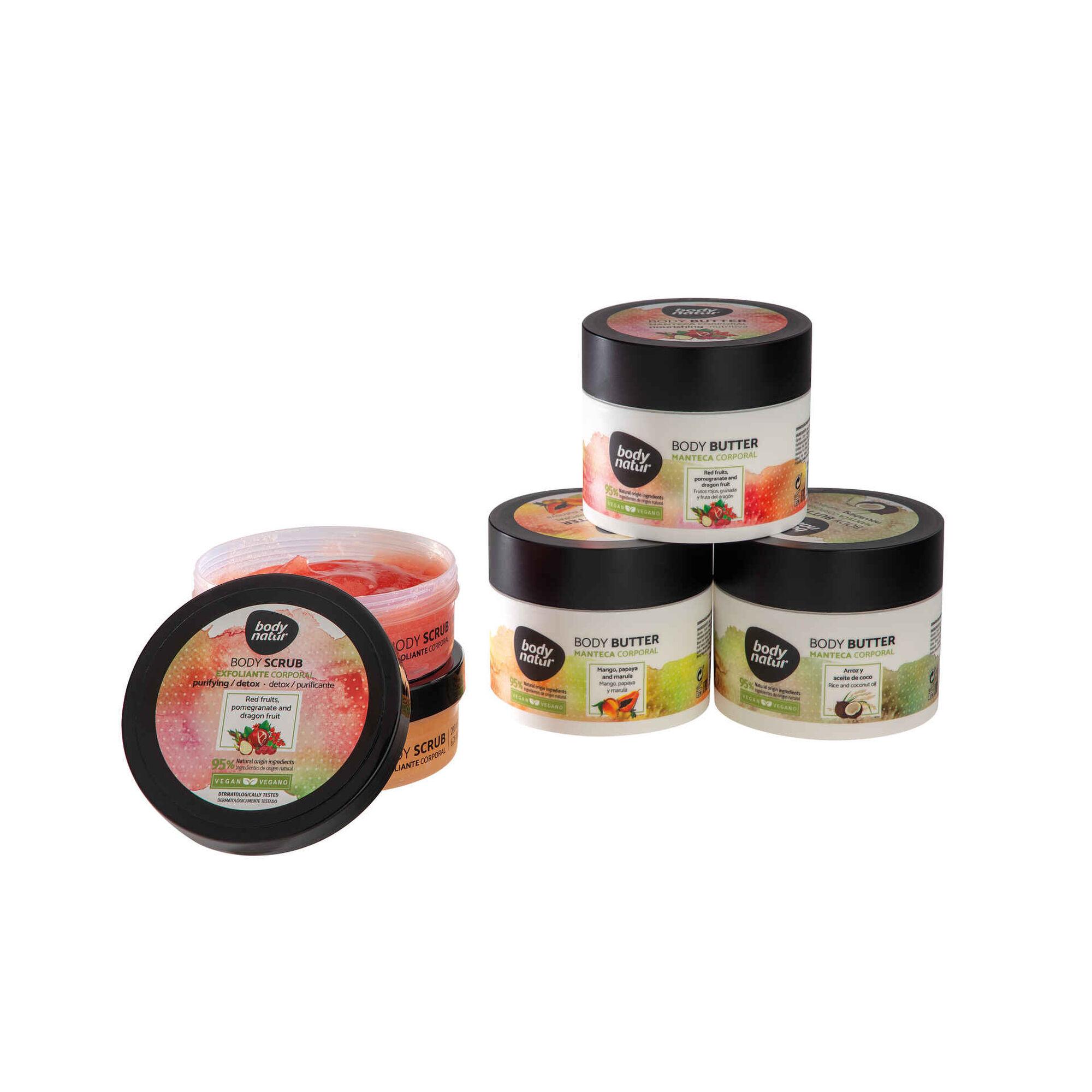 Manteiga Corporal Frutos Vermelhos