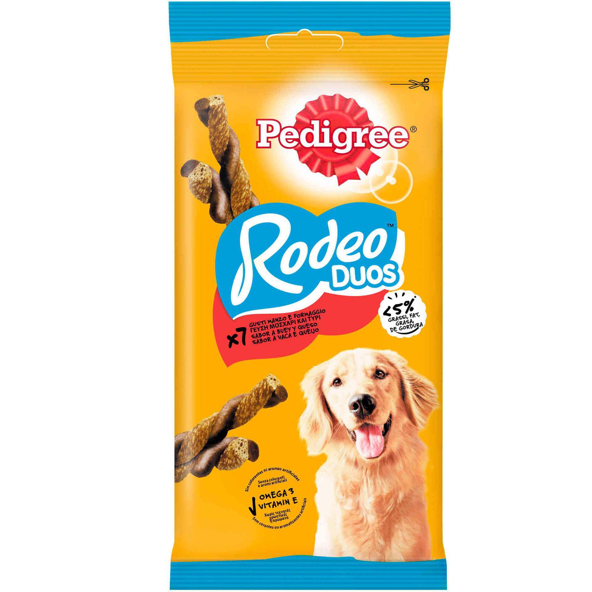Snack para Cão Rodeo Duos Vaca e Queijo
