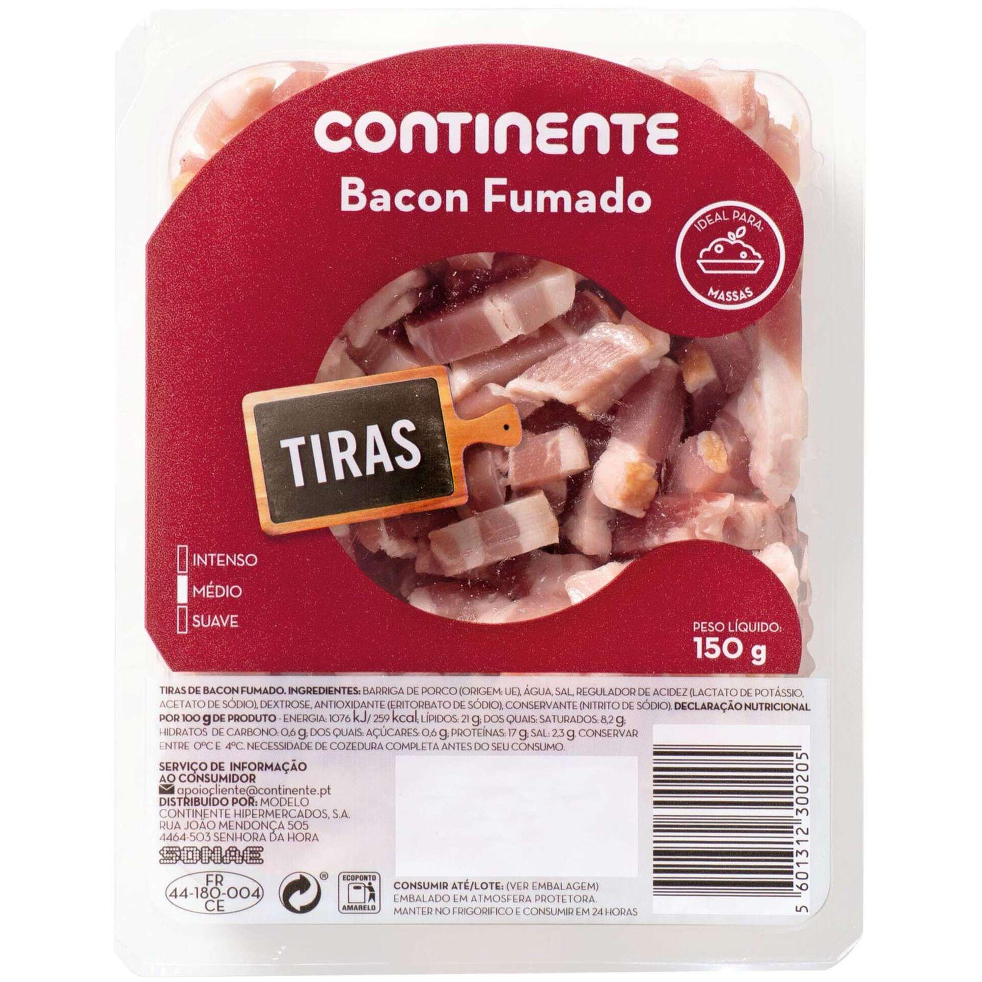 Bacon Fumado Tiras