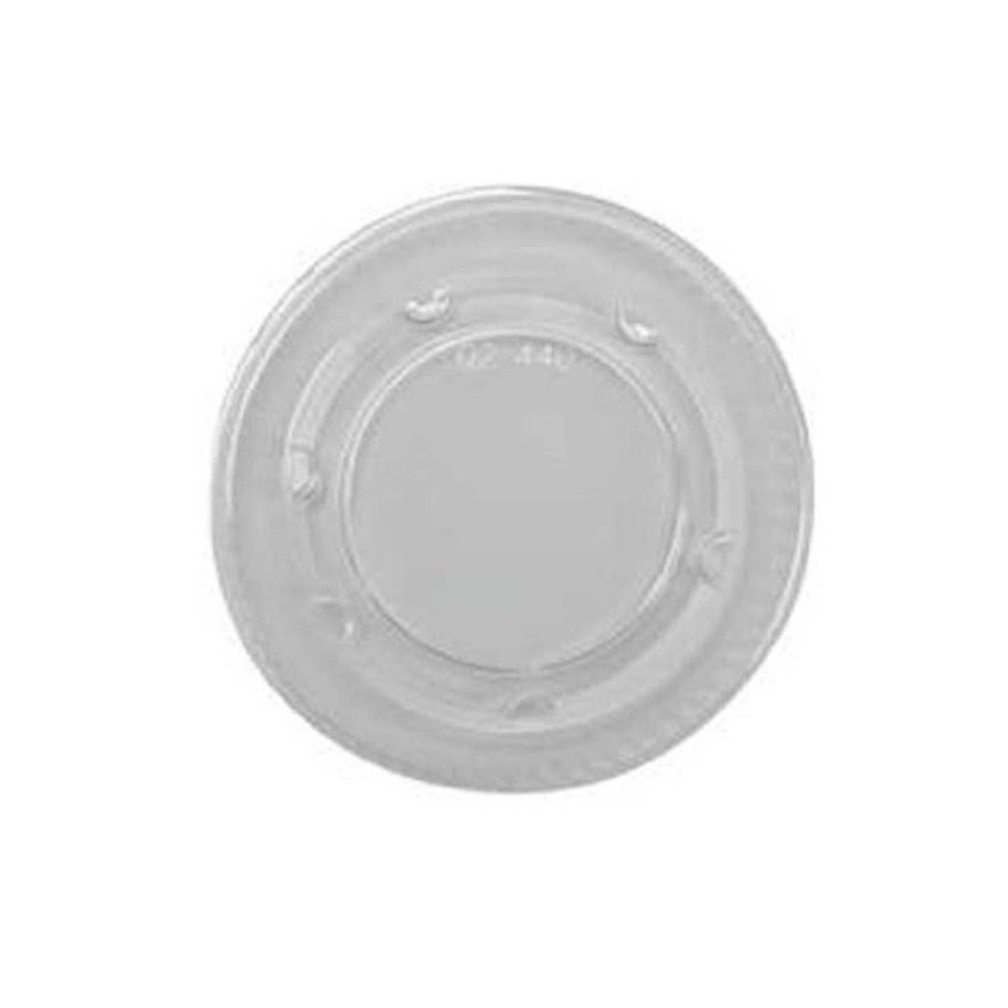 Tampa Plástico para Copo Molho Branca
