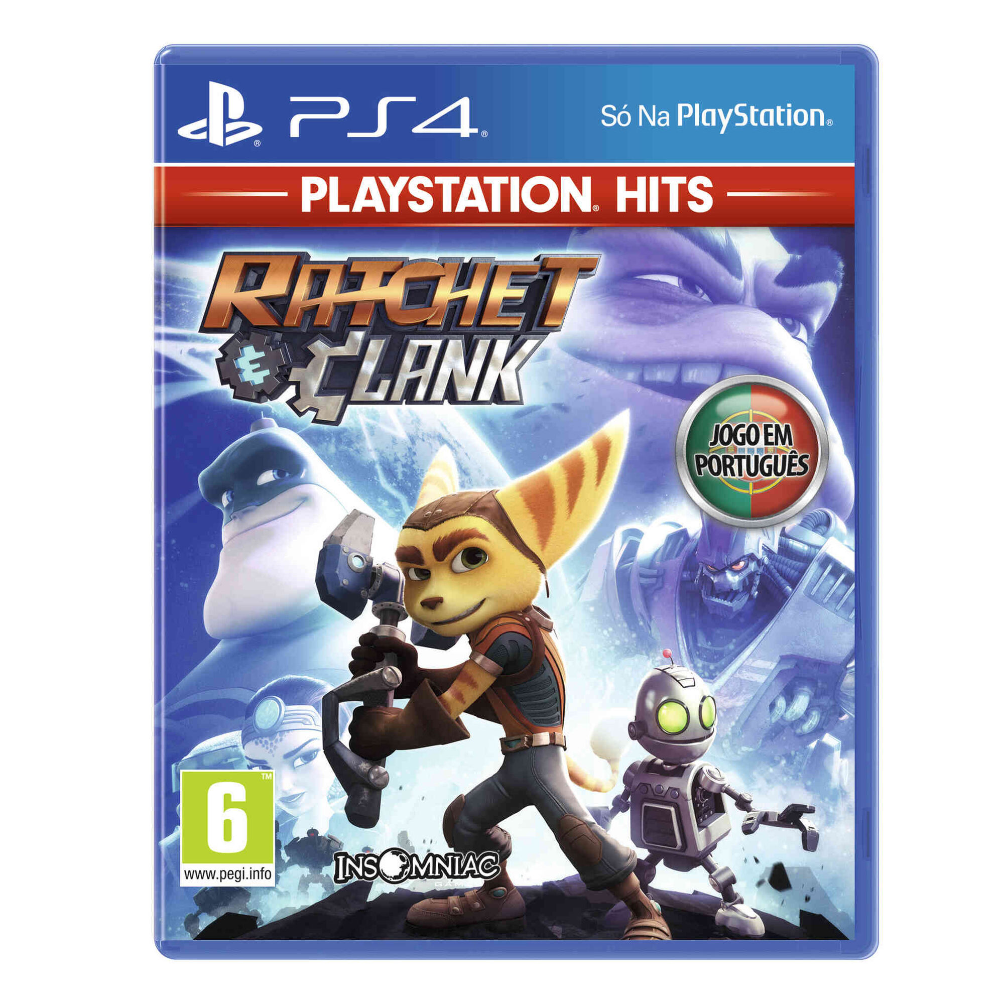 Jogo Sony PS4 Ratchet & Clank Hits