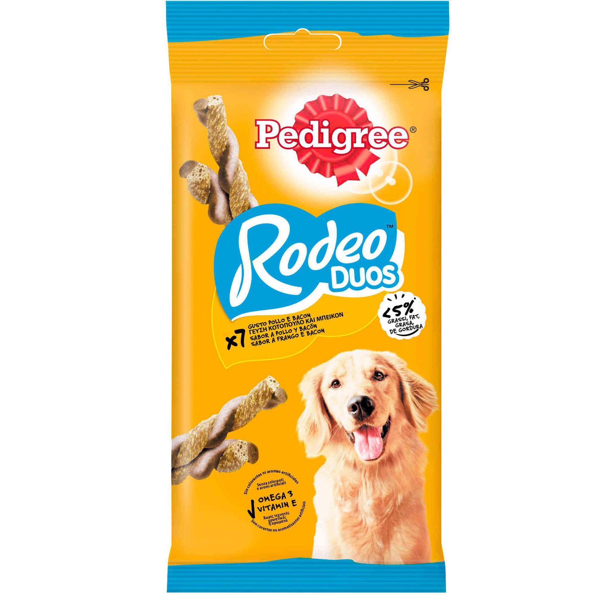 Snack para Cão Rodeo Frango e Bacon
