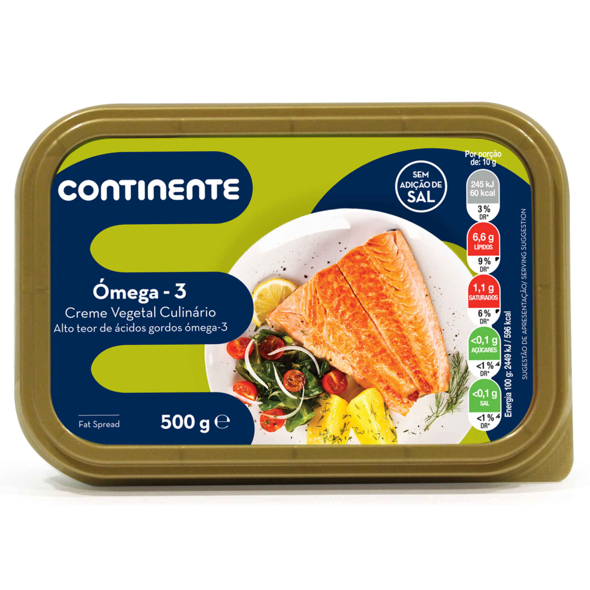 Creme Vegetal Culinário Omega 3