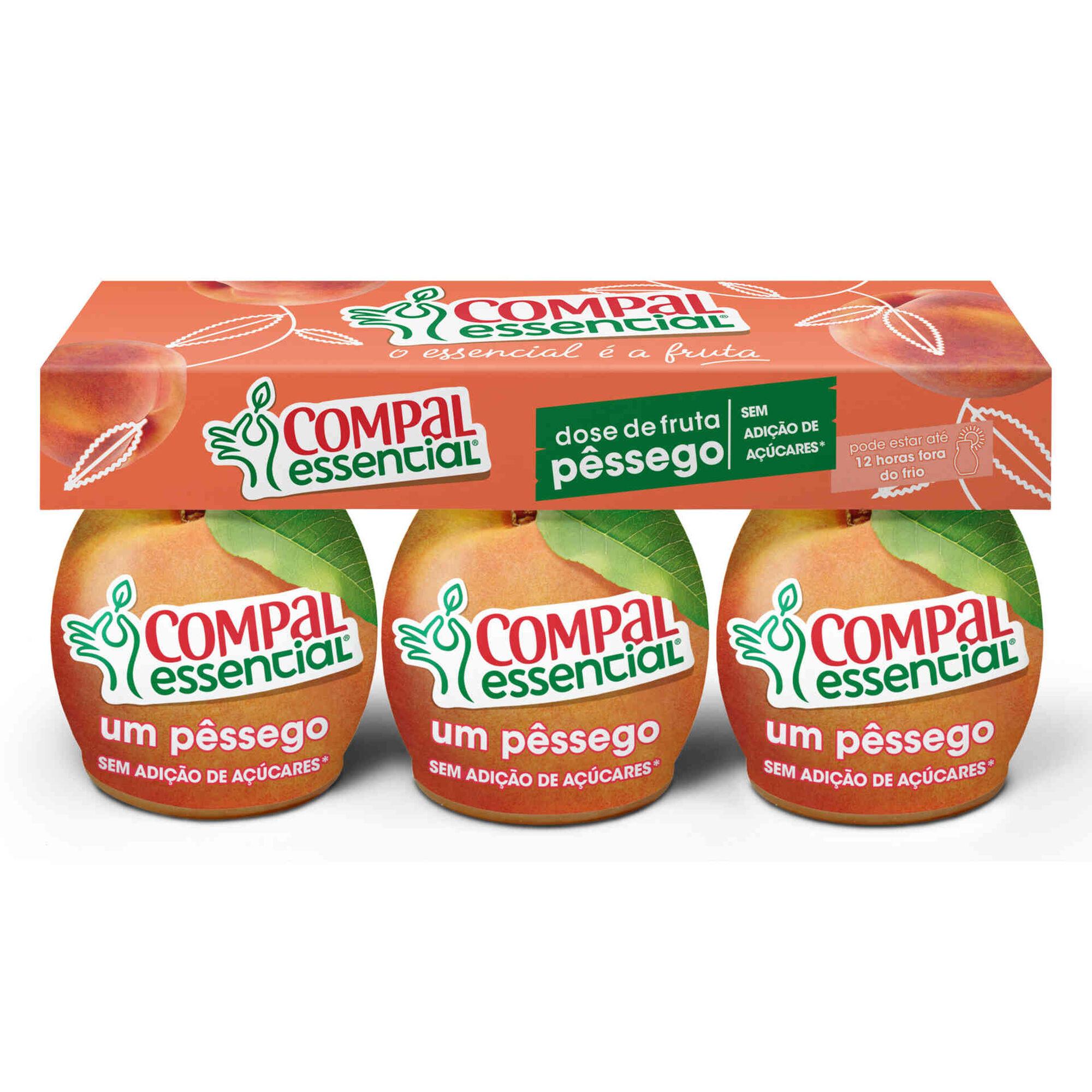 Doses Fruta Pêssego