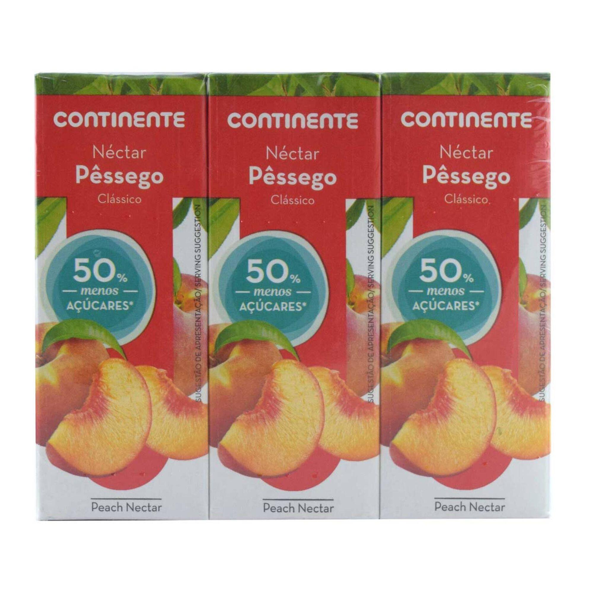 Néctar de Pêssego -50% Açúcares