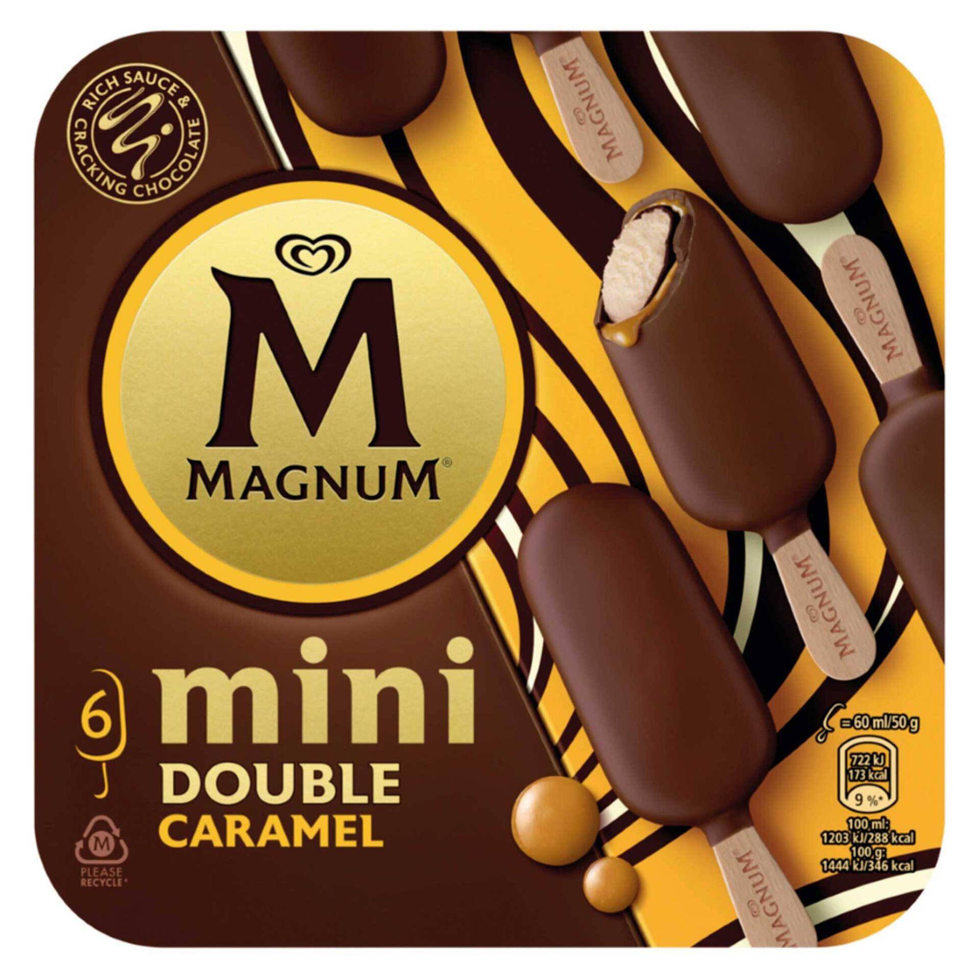 Gelado Mini Double de Caramelo