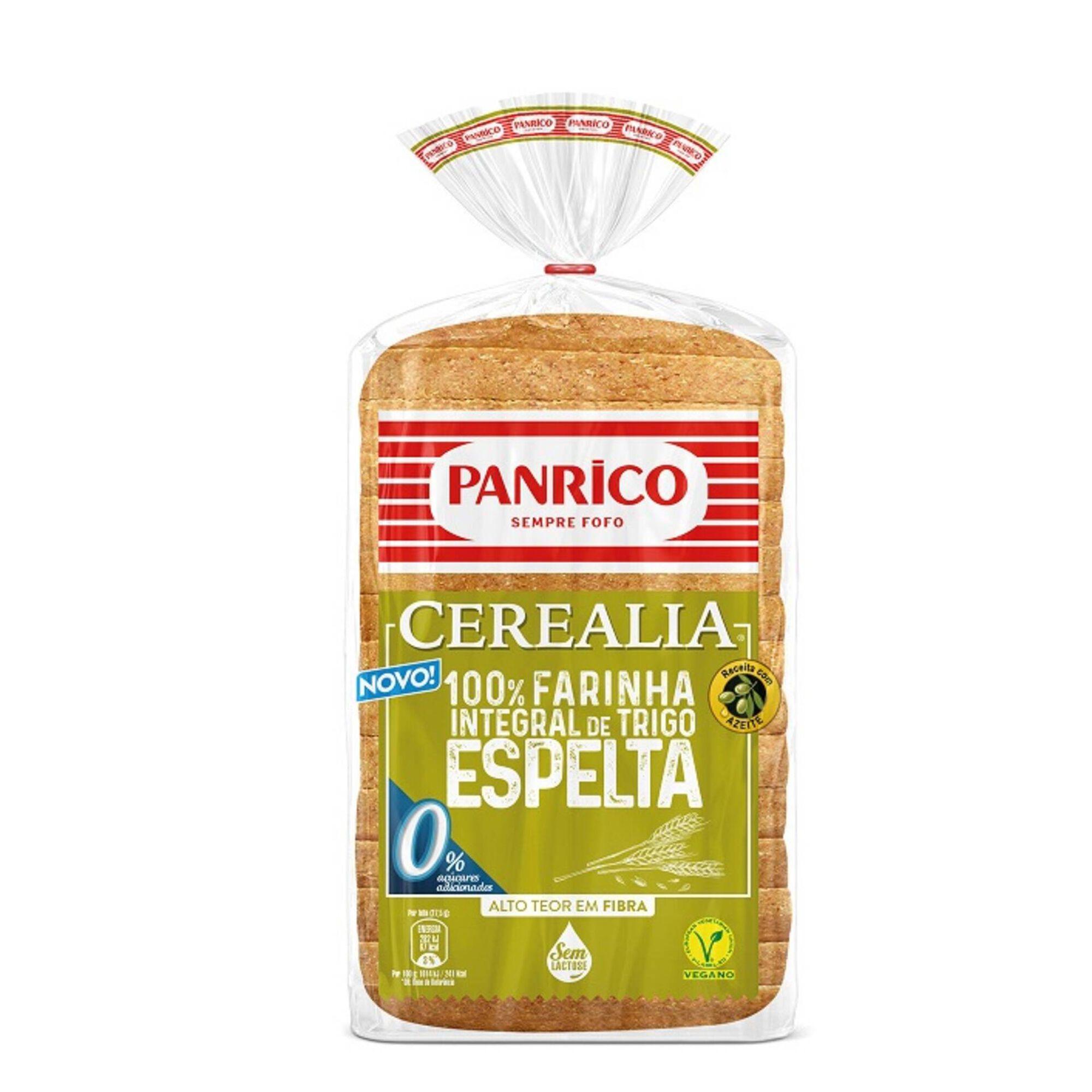 Pão Cerealia 100% Farinha Integral de Trigo Espelta