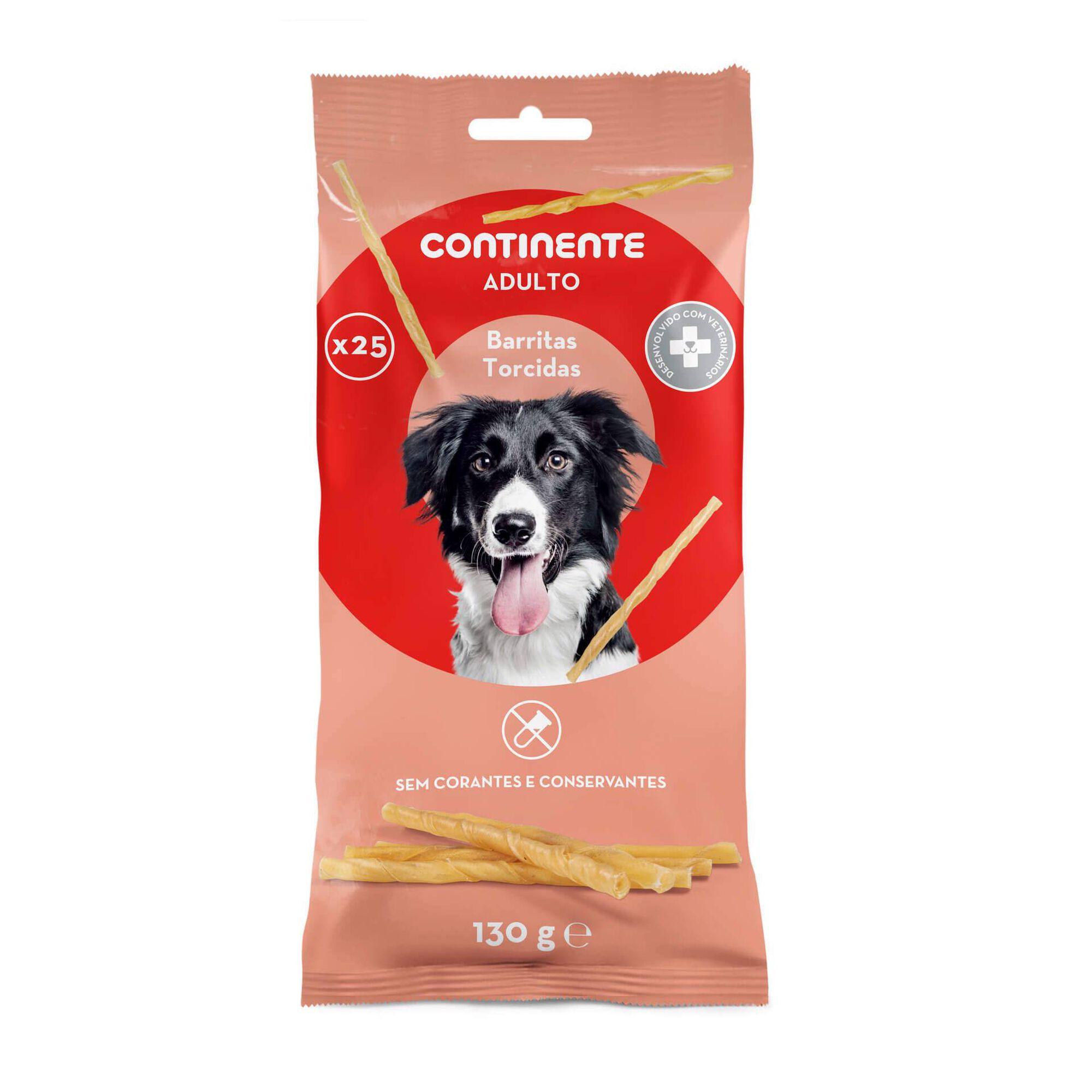 Snack para Cão Adulto Barritas Torcidas