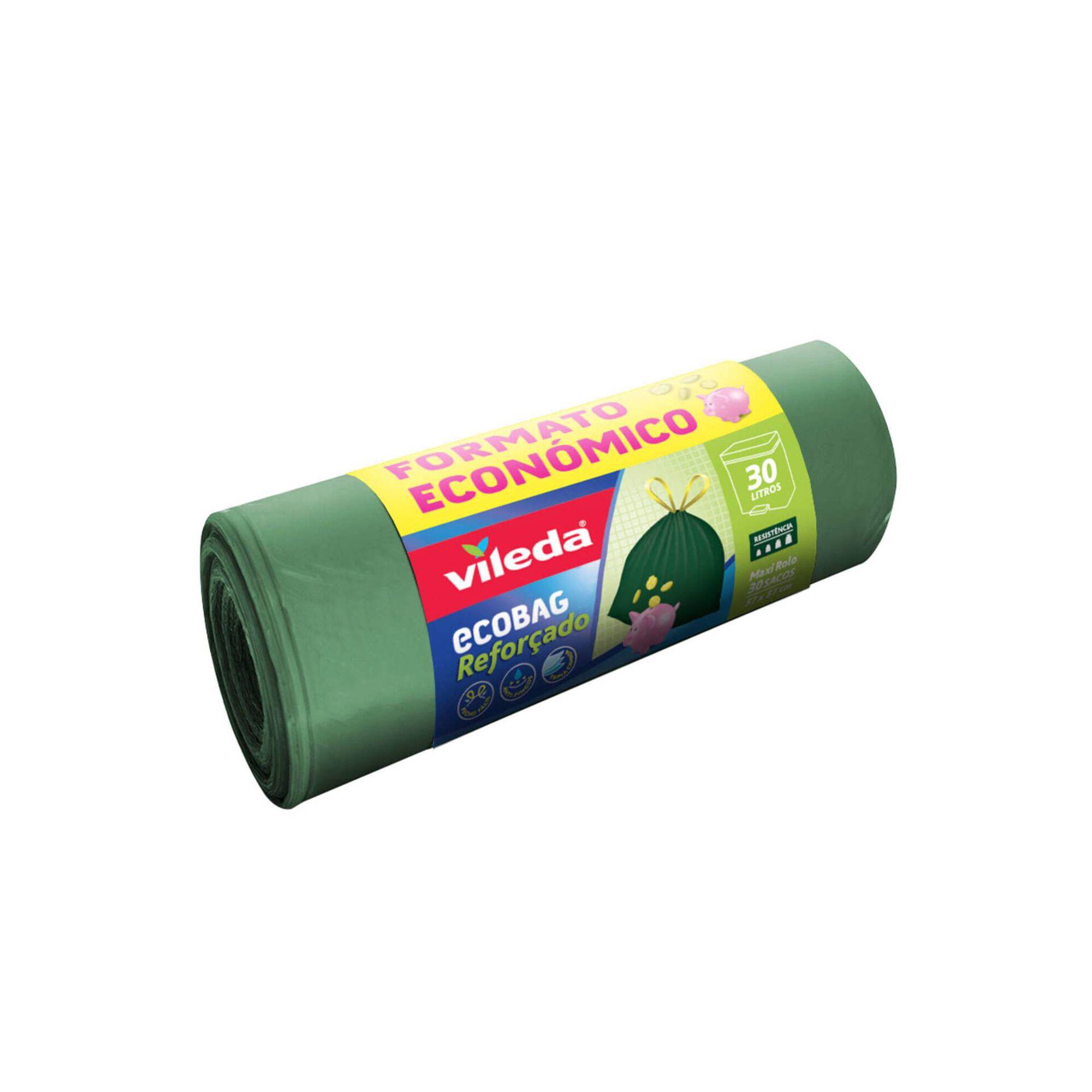 Sacos Lixo Ecobag Reforçado Fecho Fácil 30 lt, , hi-res