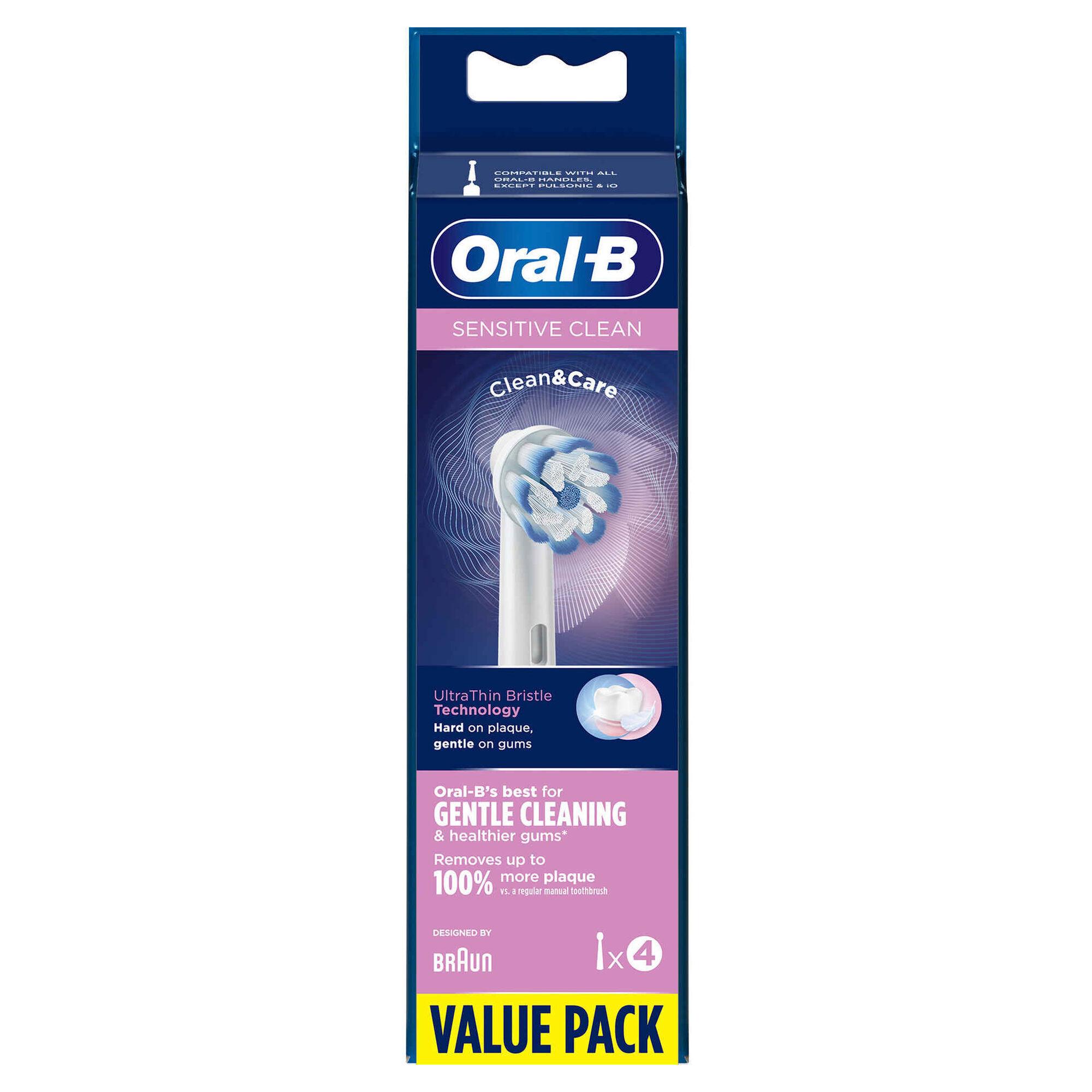 Recarga Escova de Dentes Elétrica Sensitive Clean