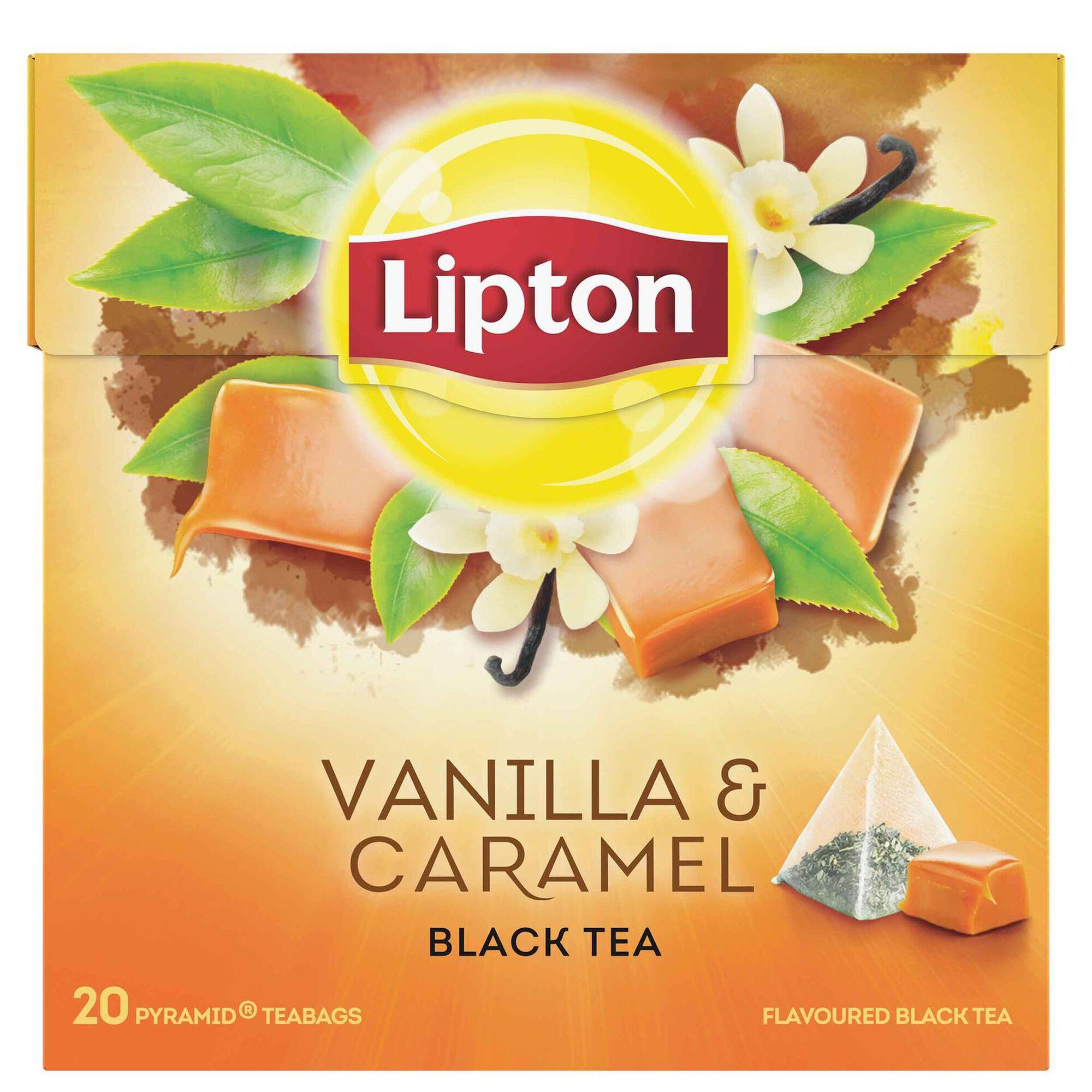Chá Preto com Baunilha e Caramelo Pyramid, , hi-res