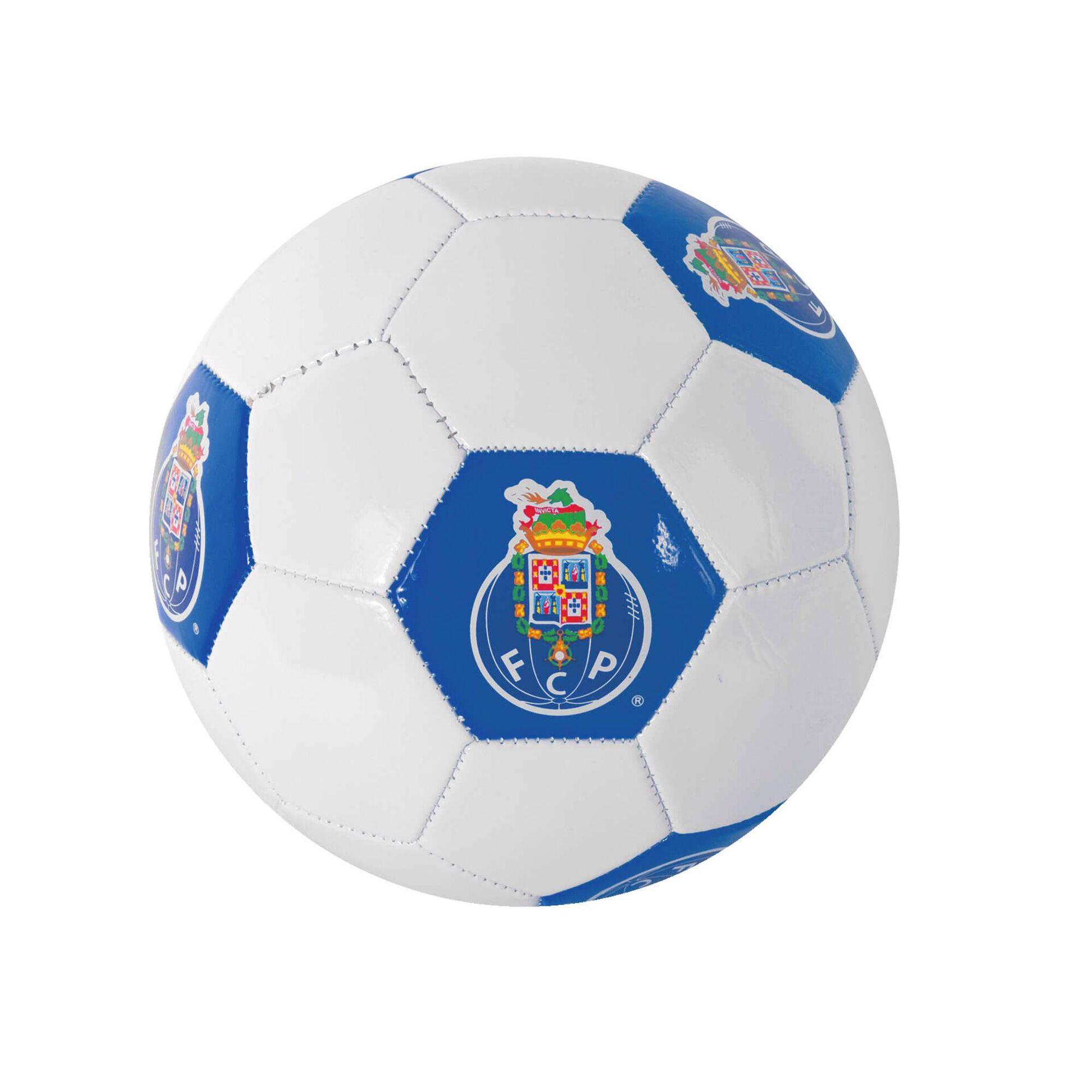 Bola Futebol Oficial FCP 22cm Azul e Branca