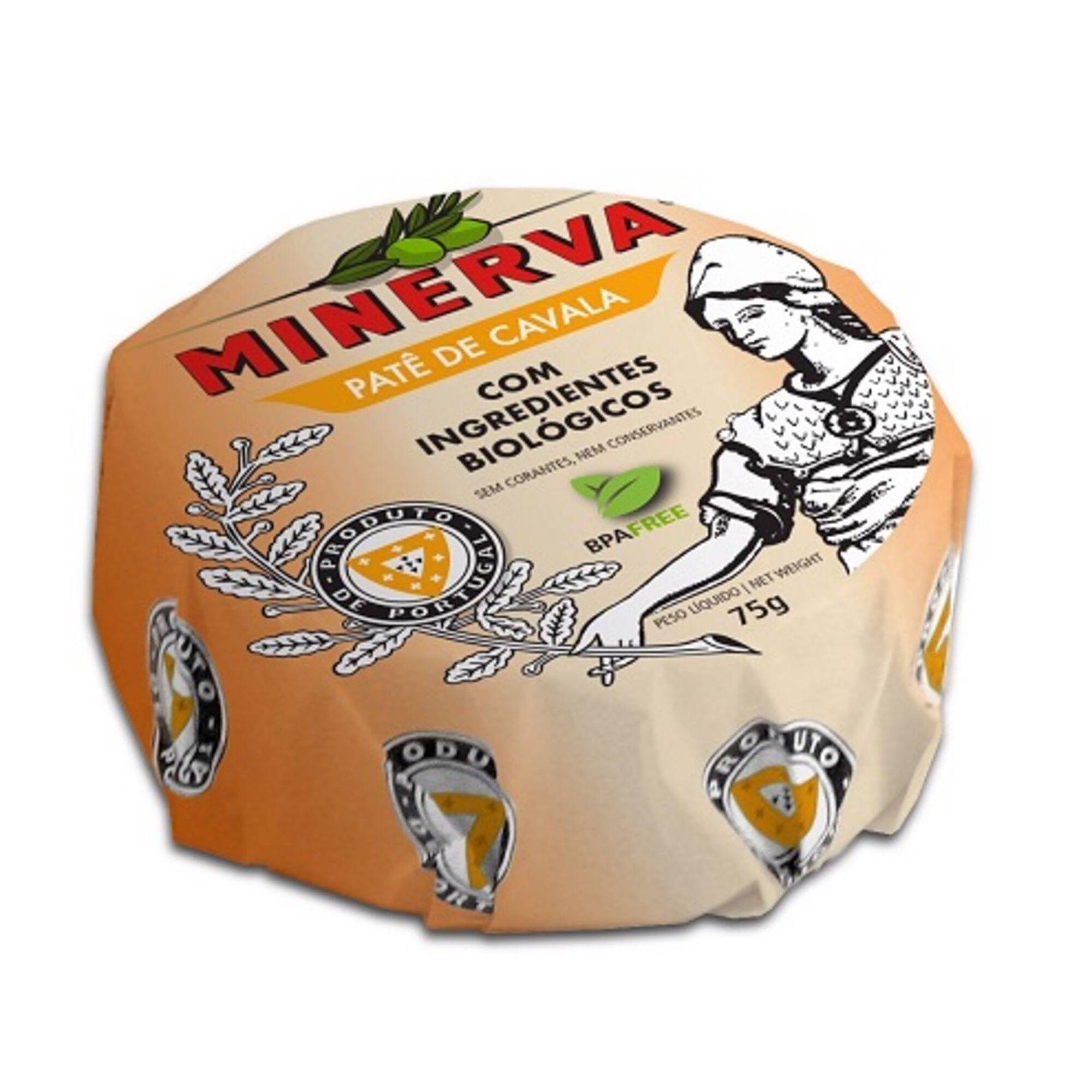 Patê de Cavala com Ingredientes Biológicos