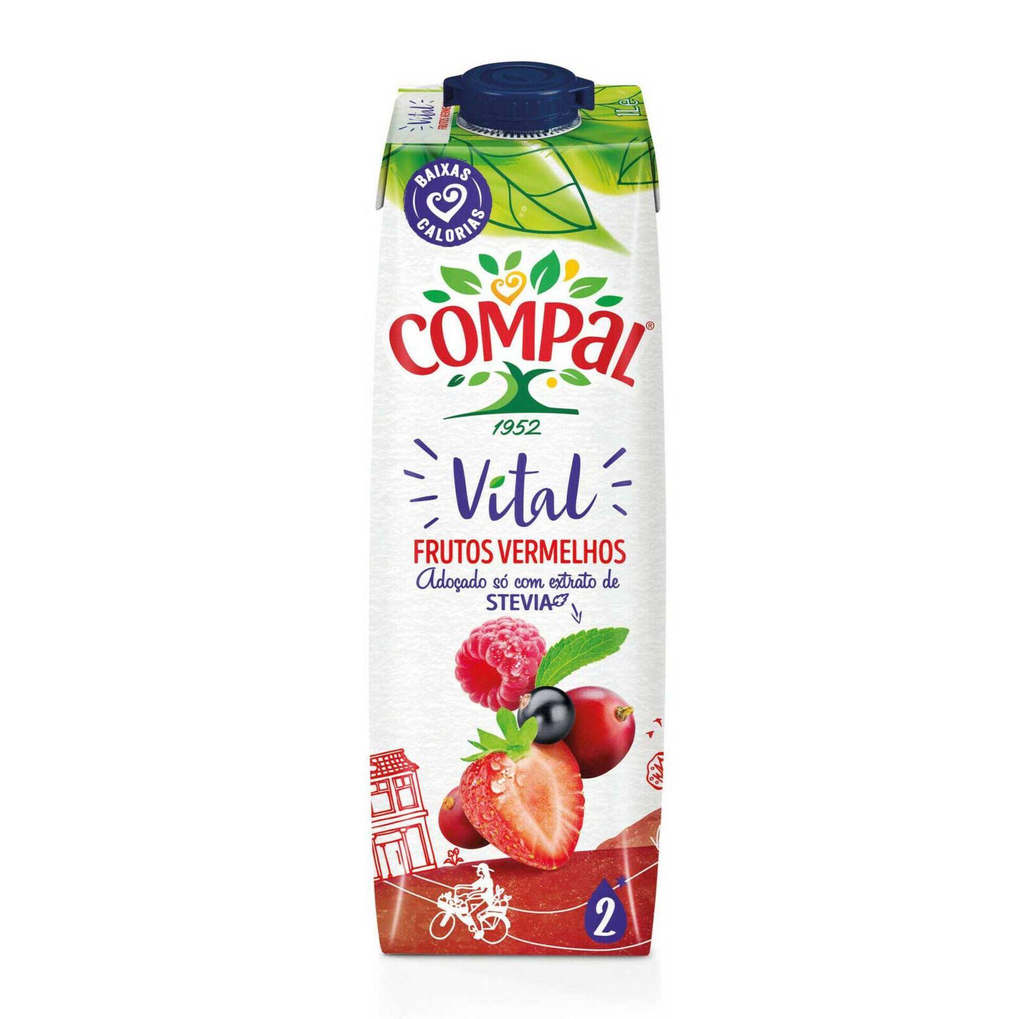 Néctar Frutos Vermelhos com Stevia