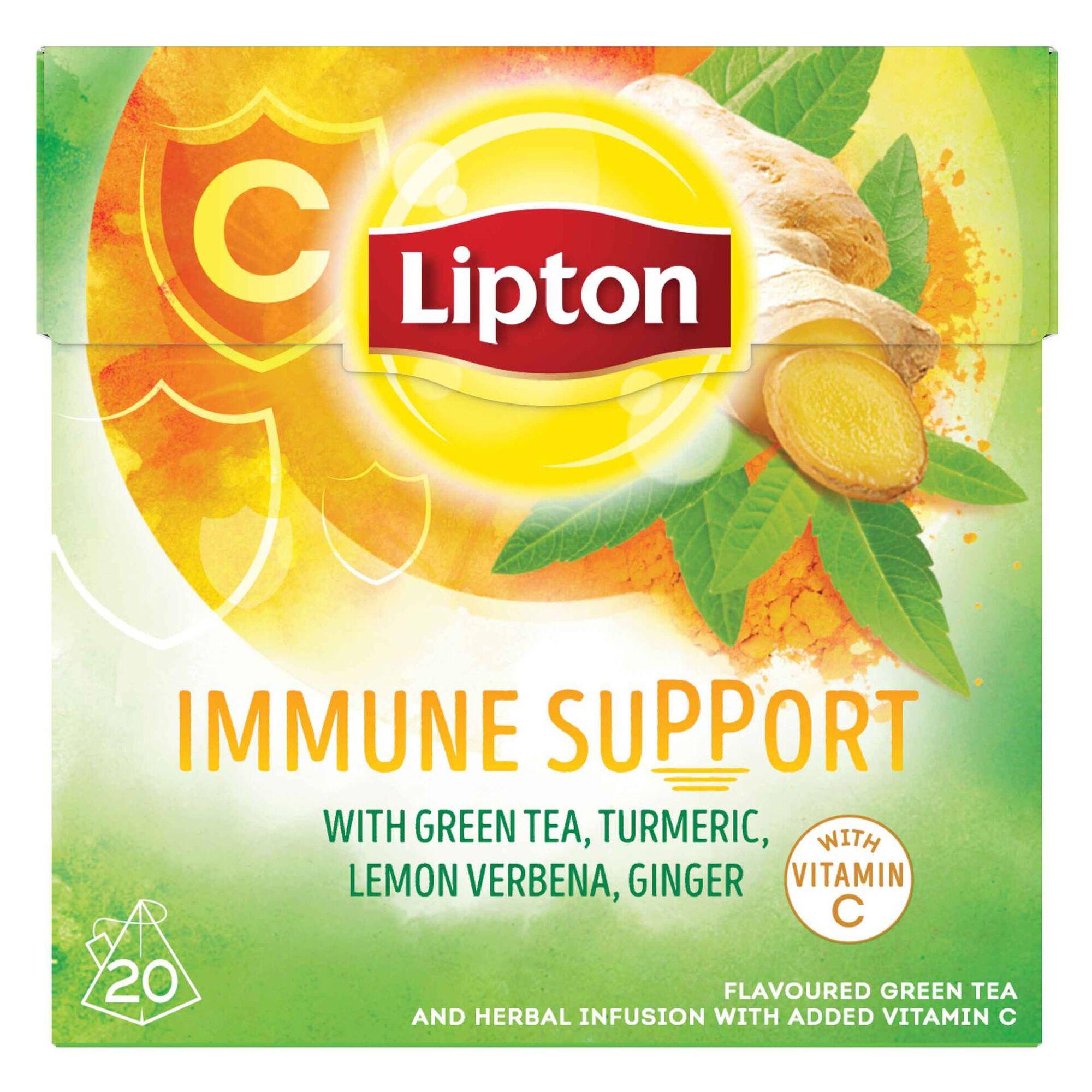 Chá Verde Immune Support Pyramid