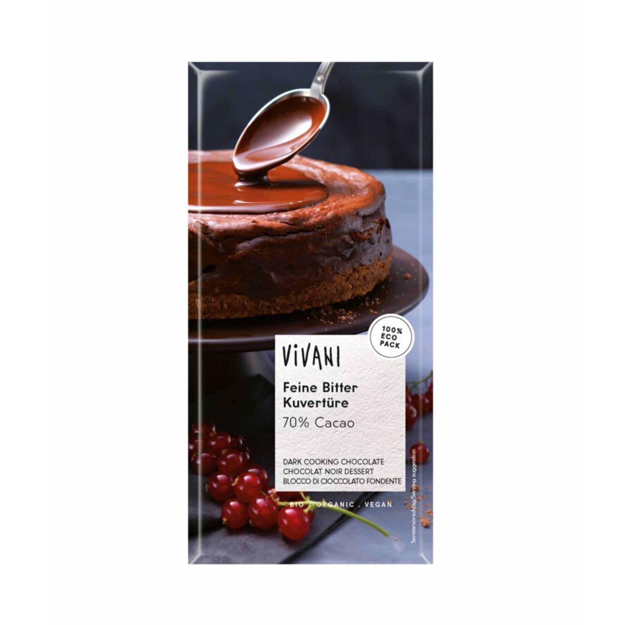 Tablete de Chocolate Culinária 70% Cacau Biológico
