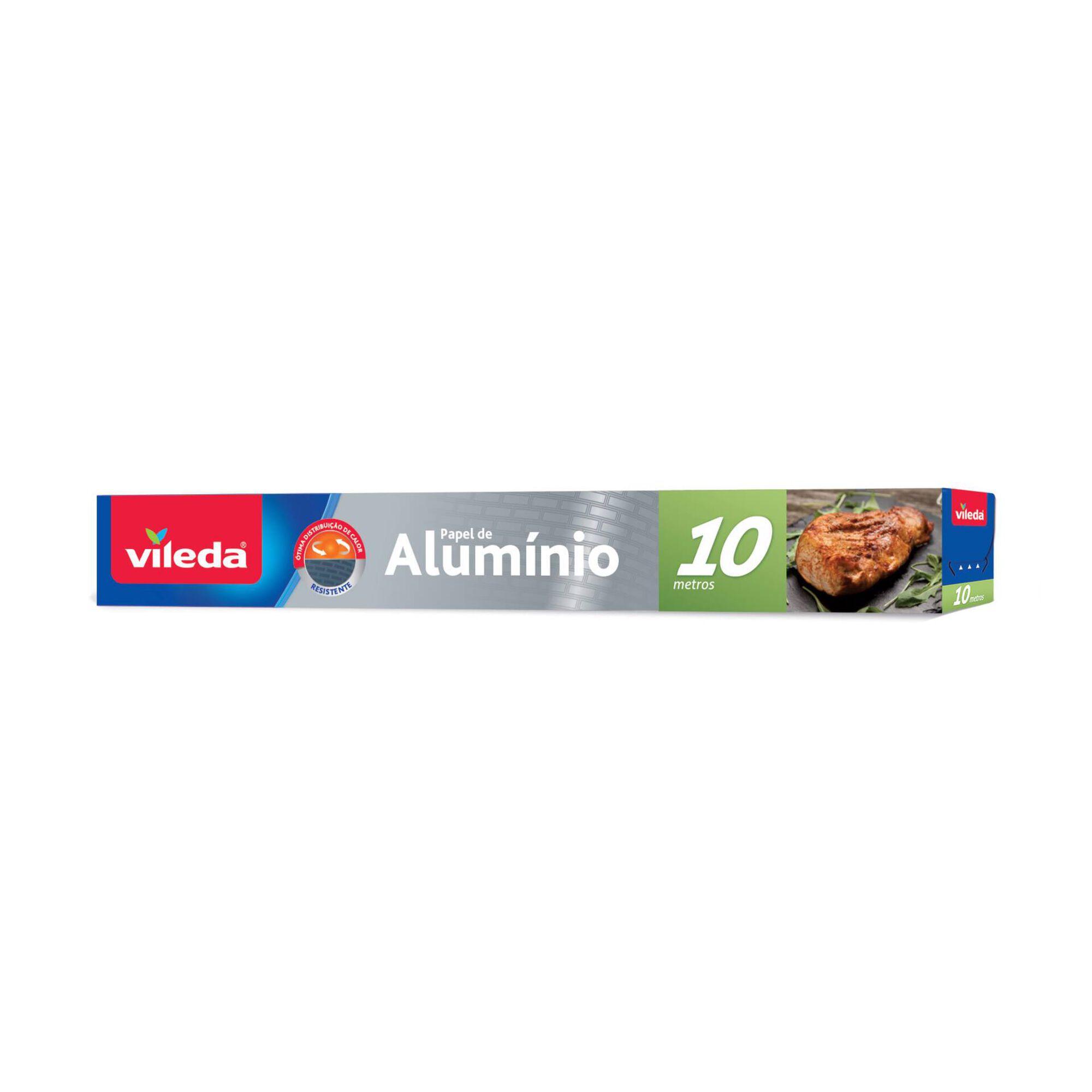 Papel de Alumínio 10m