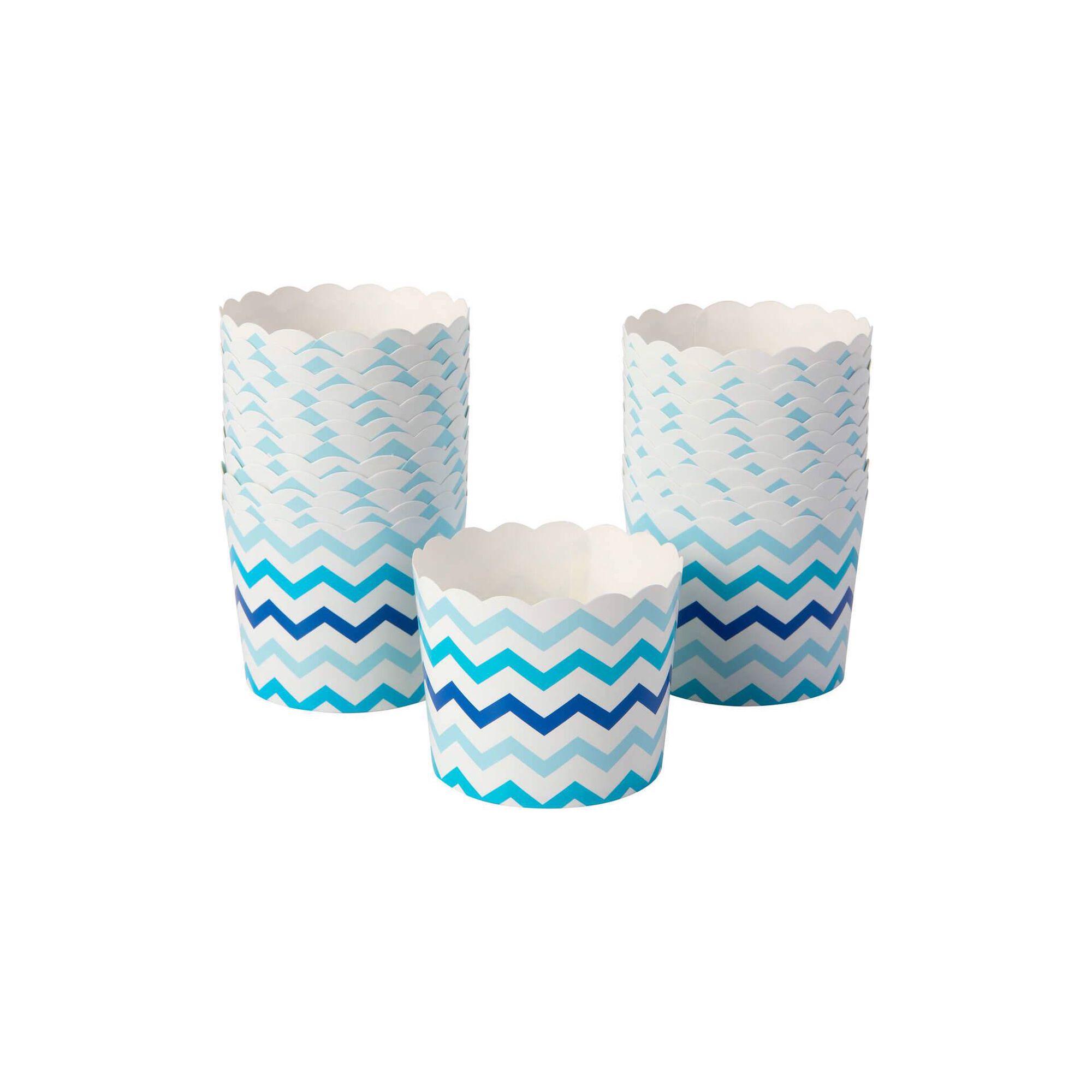 Taças Papel 15cm Azul Party