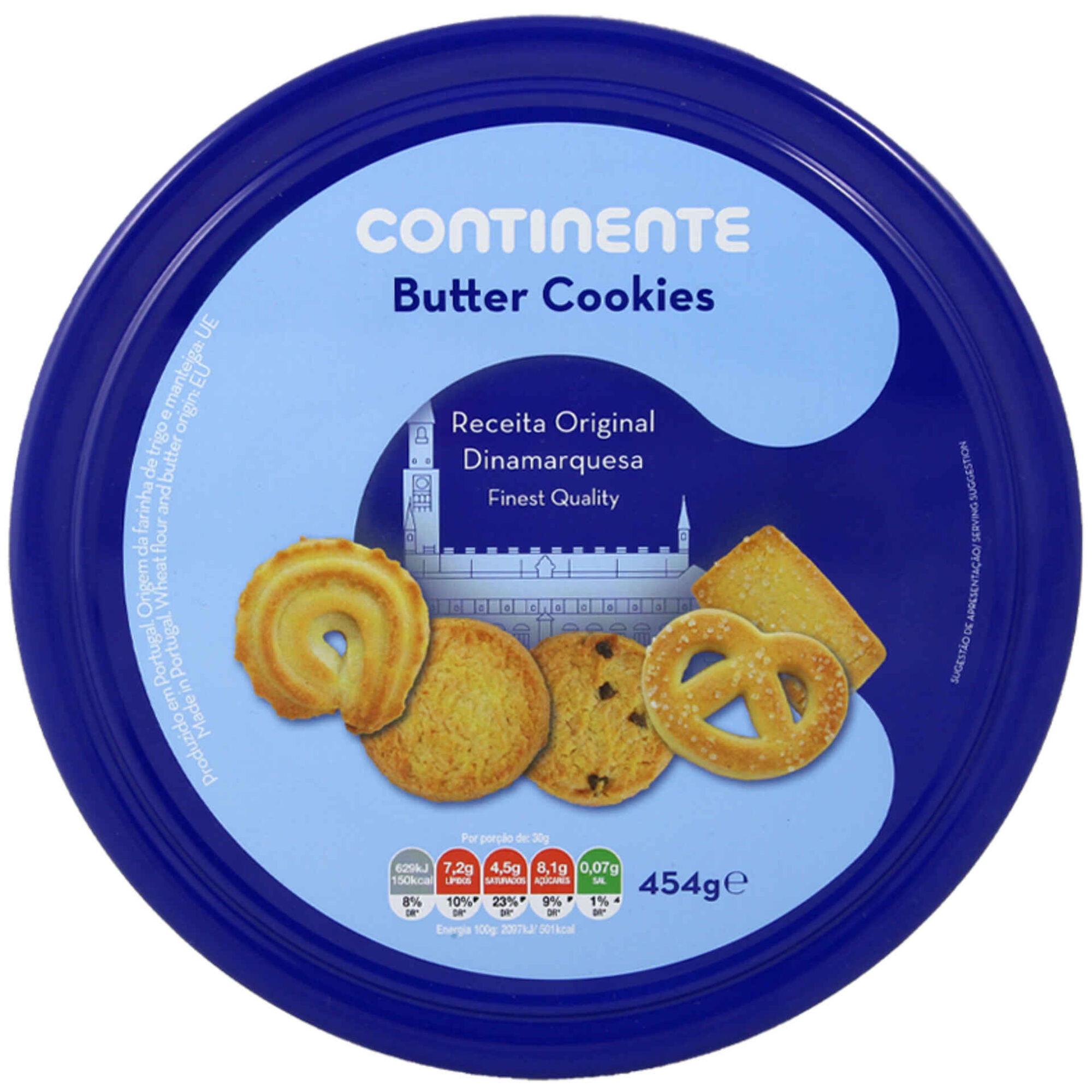 Bolachas de Manteiga Butter Cookies