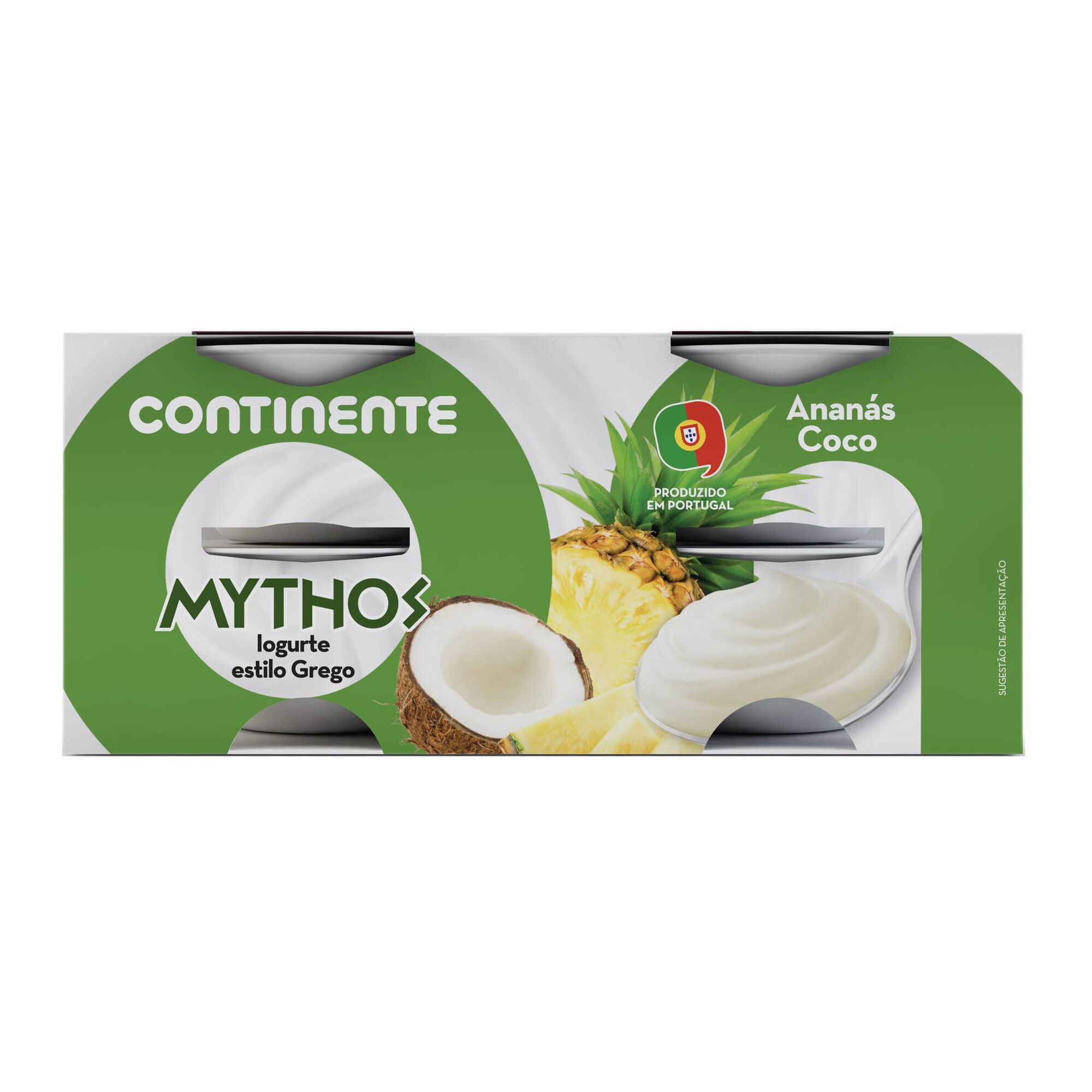 Iogurte Grego Mythos Ananás e Coco